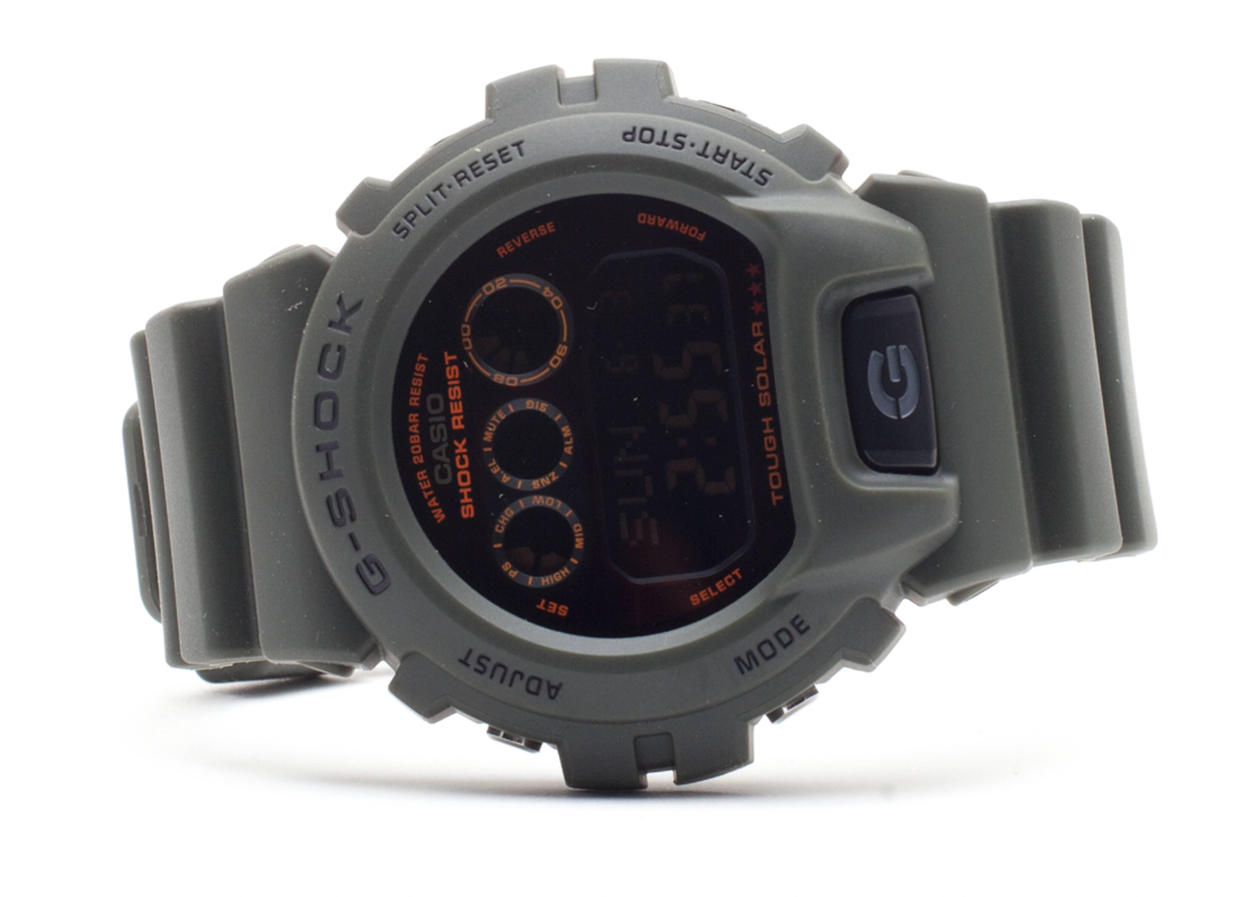 "g-shock g6900kg3cr ""solar military series"""