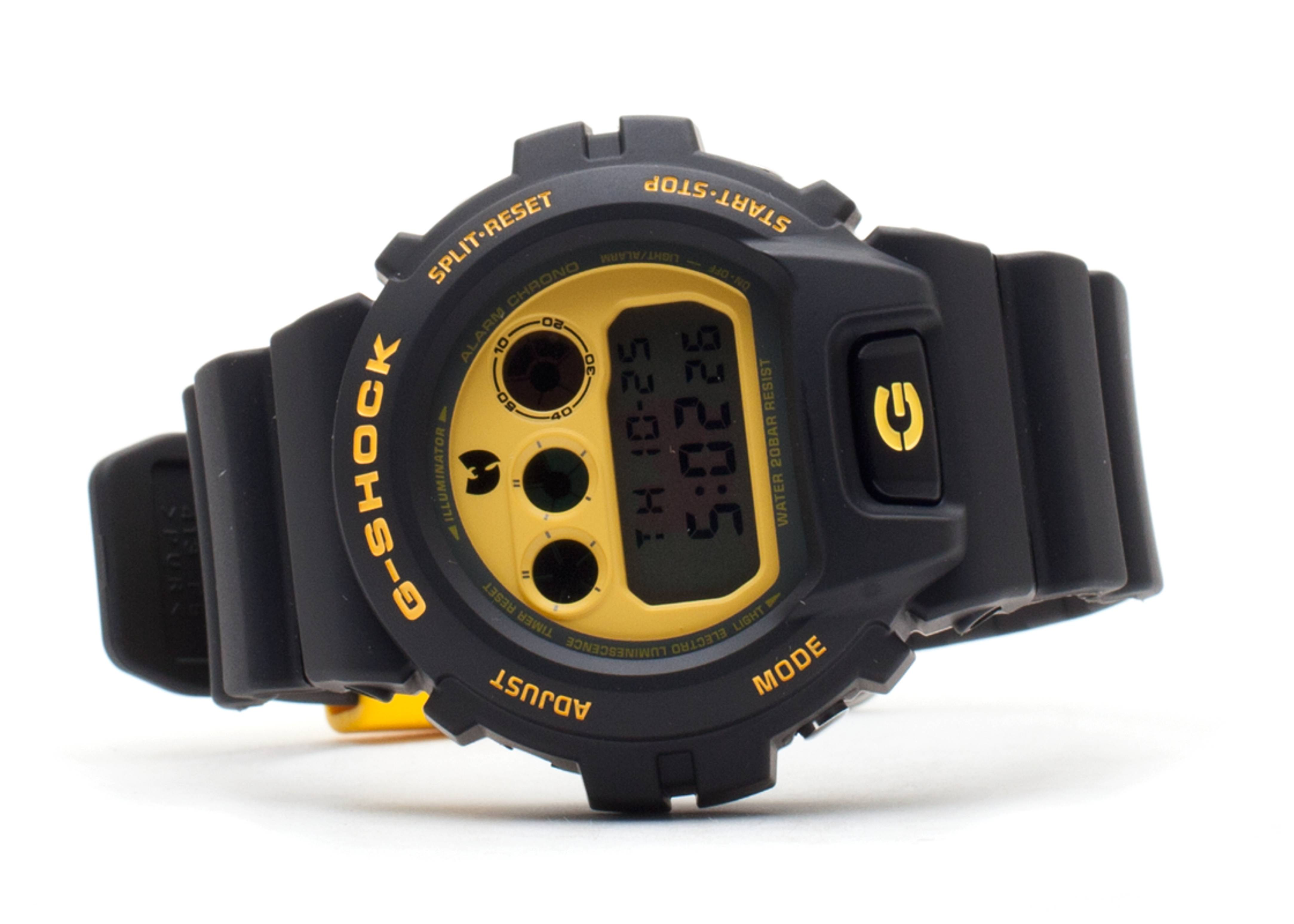 "g-shock dw6900fswtc ""limited edition wu-tang clan"""