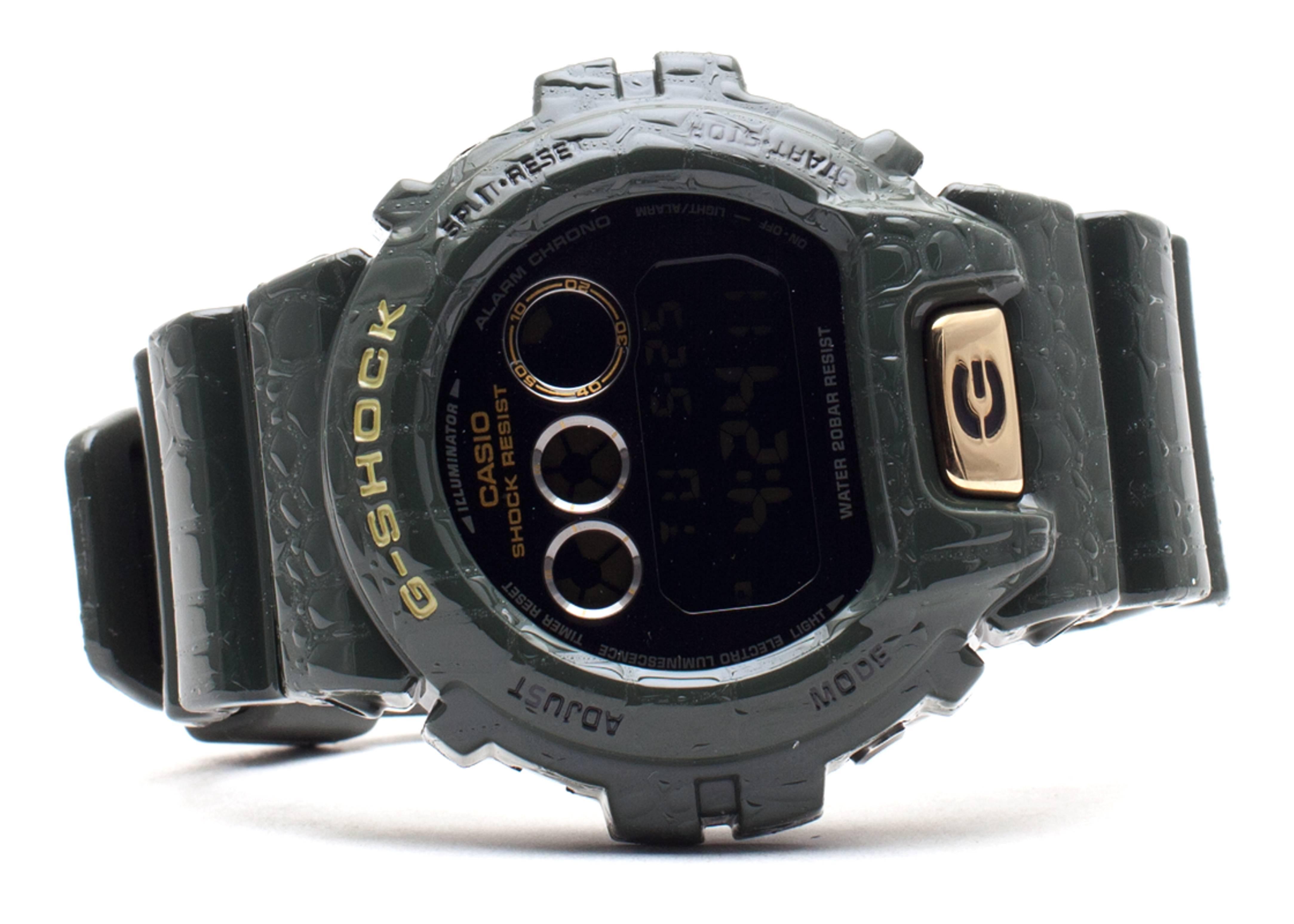 """g-shock dw6900cr3cr """"crocodile pattern limited edition"""""""