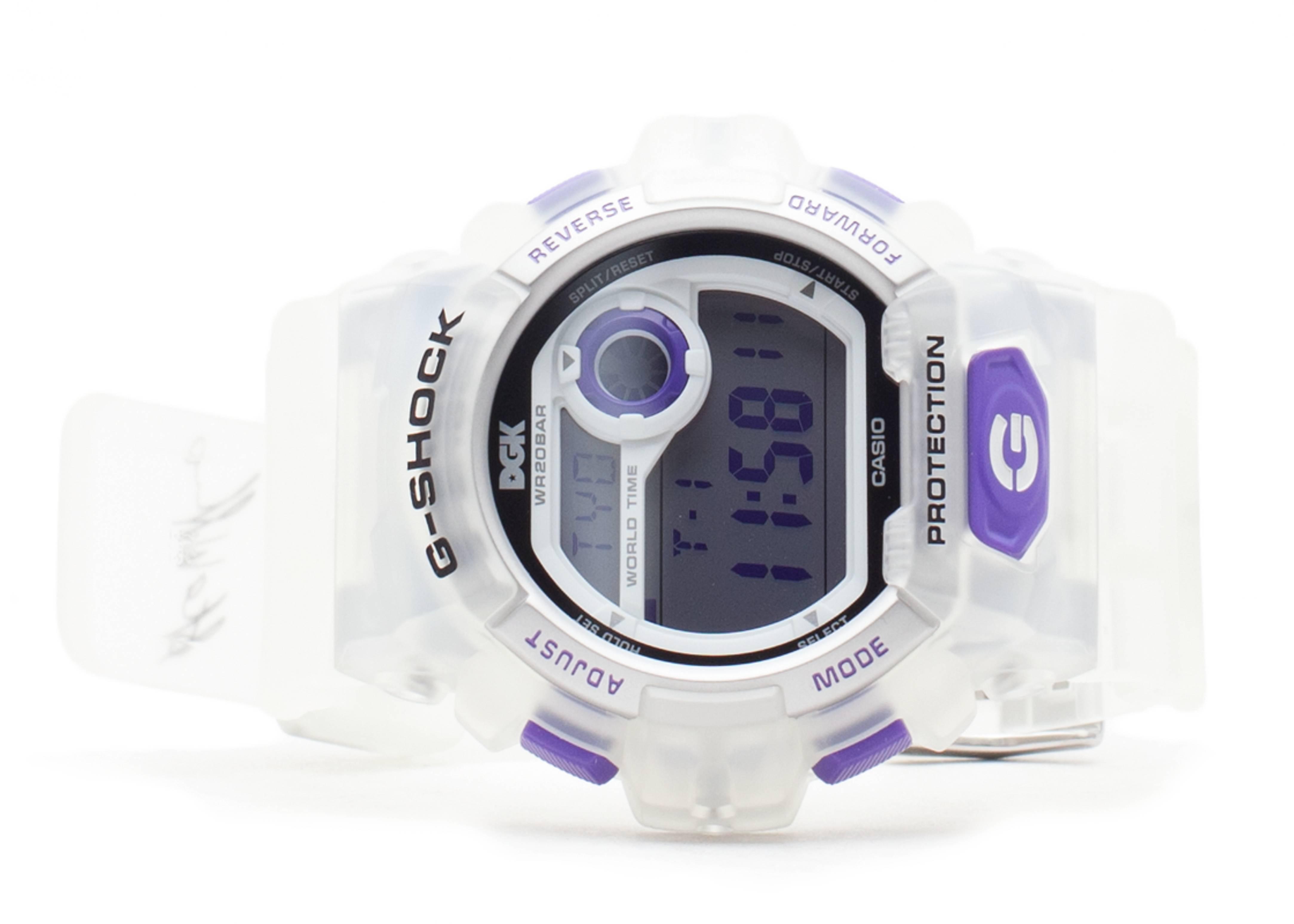 "g-shock g8900dgk7cr ""limited edition dgk"""