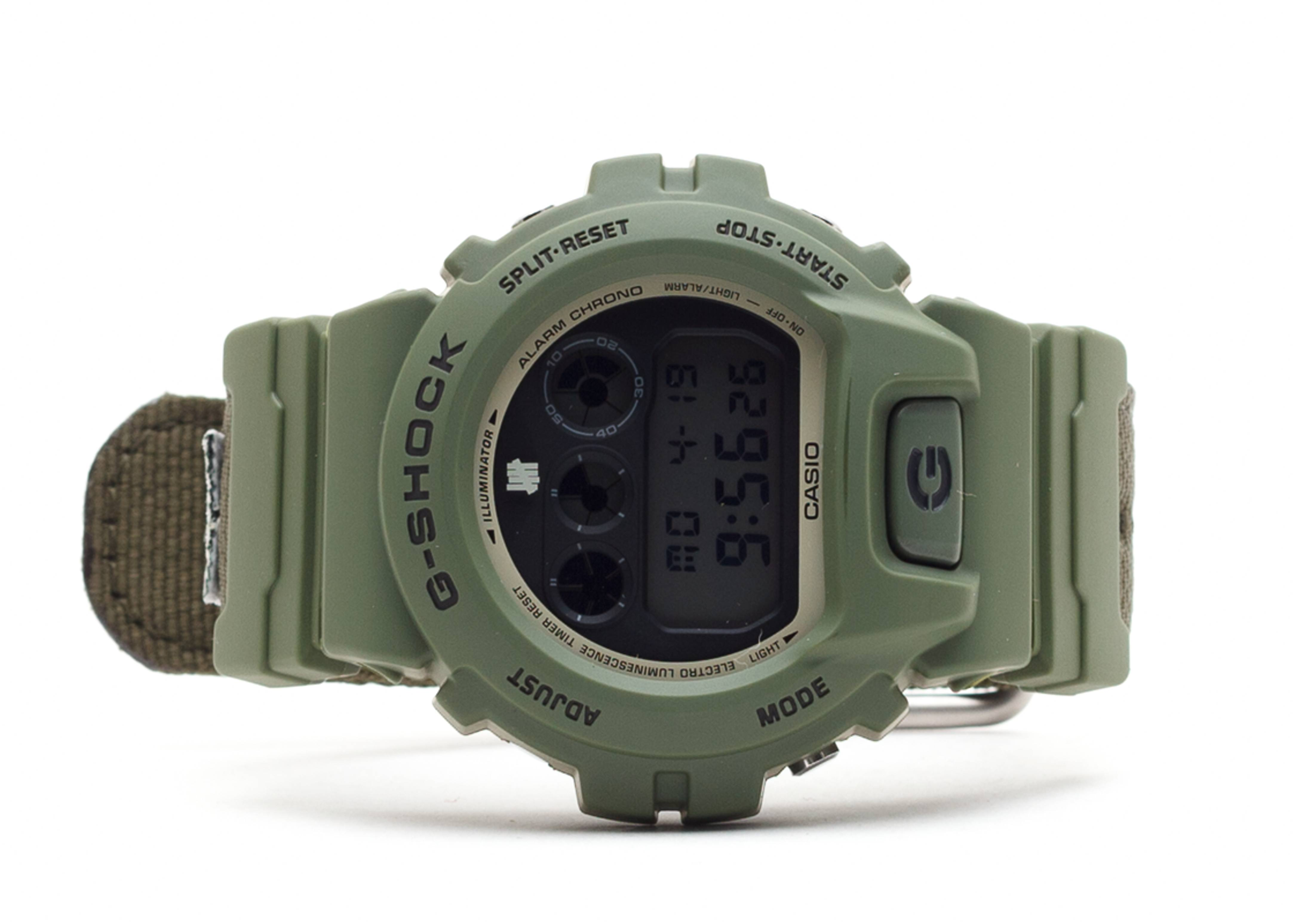 "g-shock dw6901 ""limited edition undefeated"""