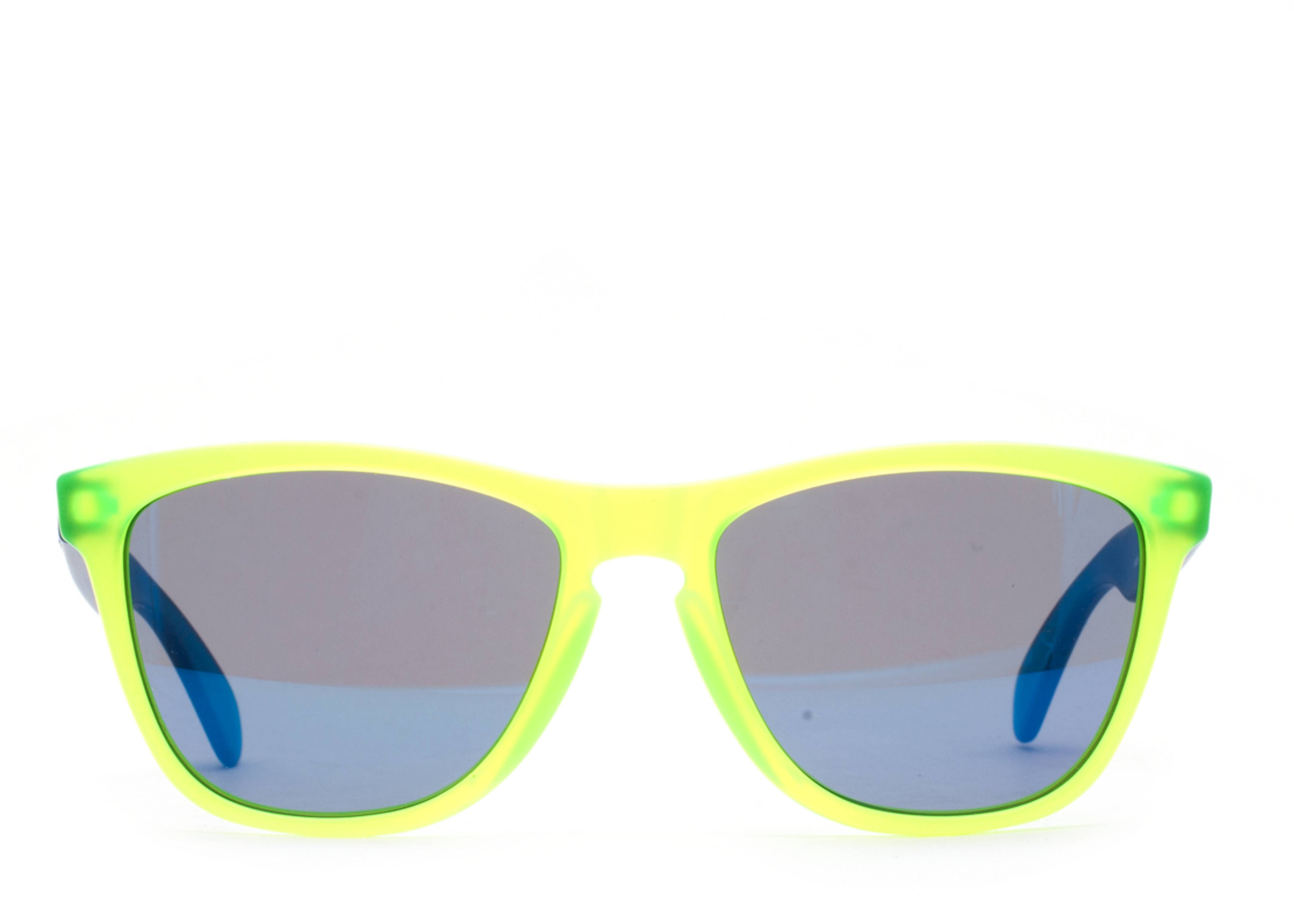 bf9ca6047c Oakley Frogskins Blue Yellow « Heritage Malta