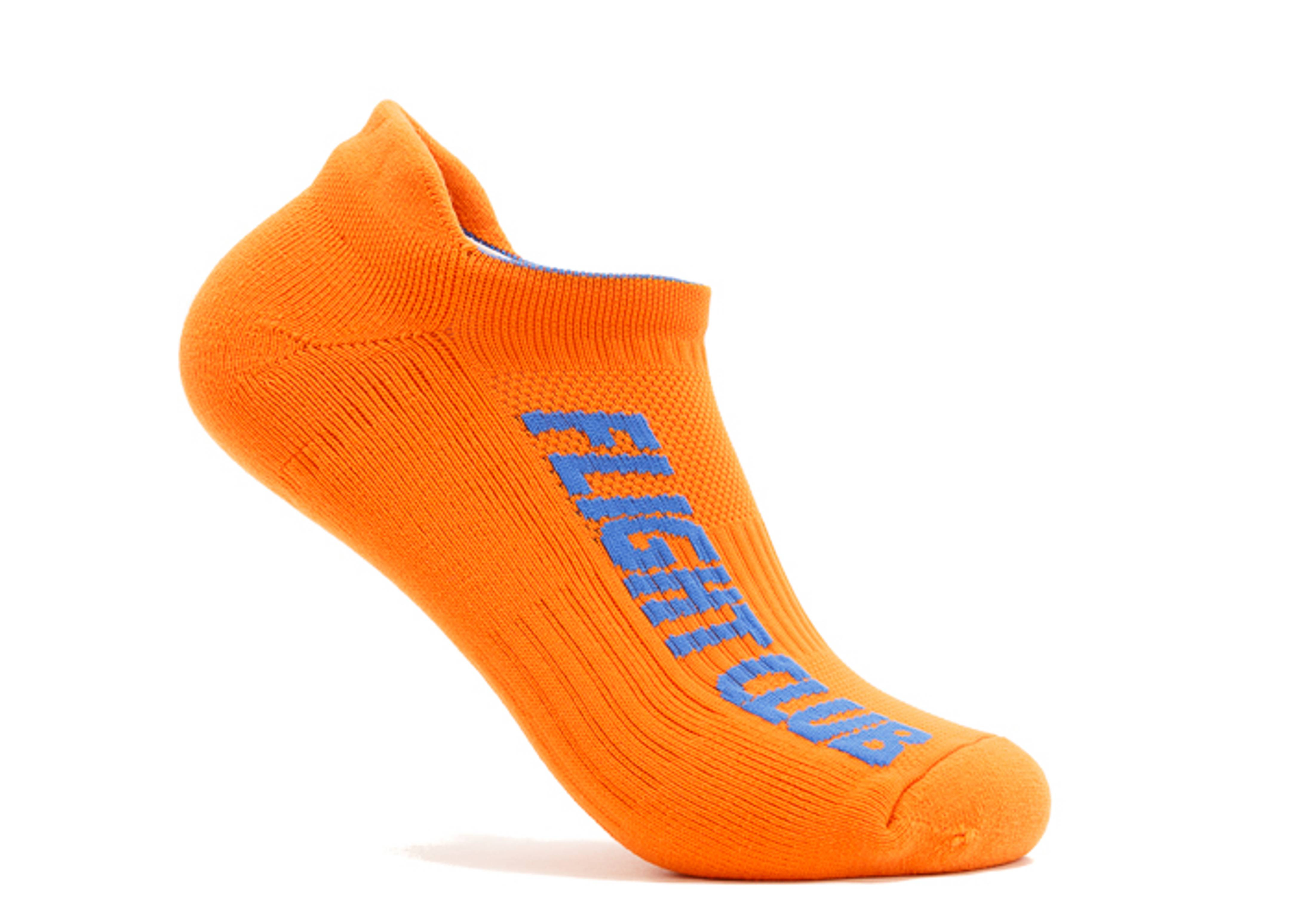 "stealth no show sock ""stealth athl orange"""