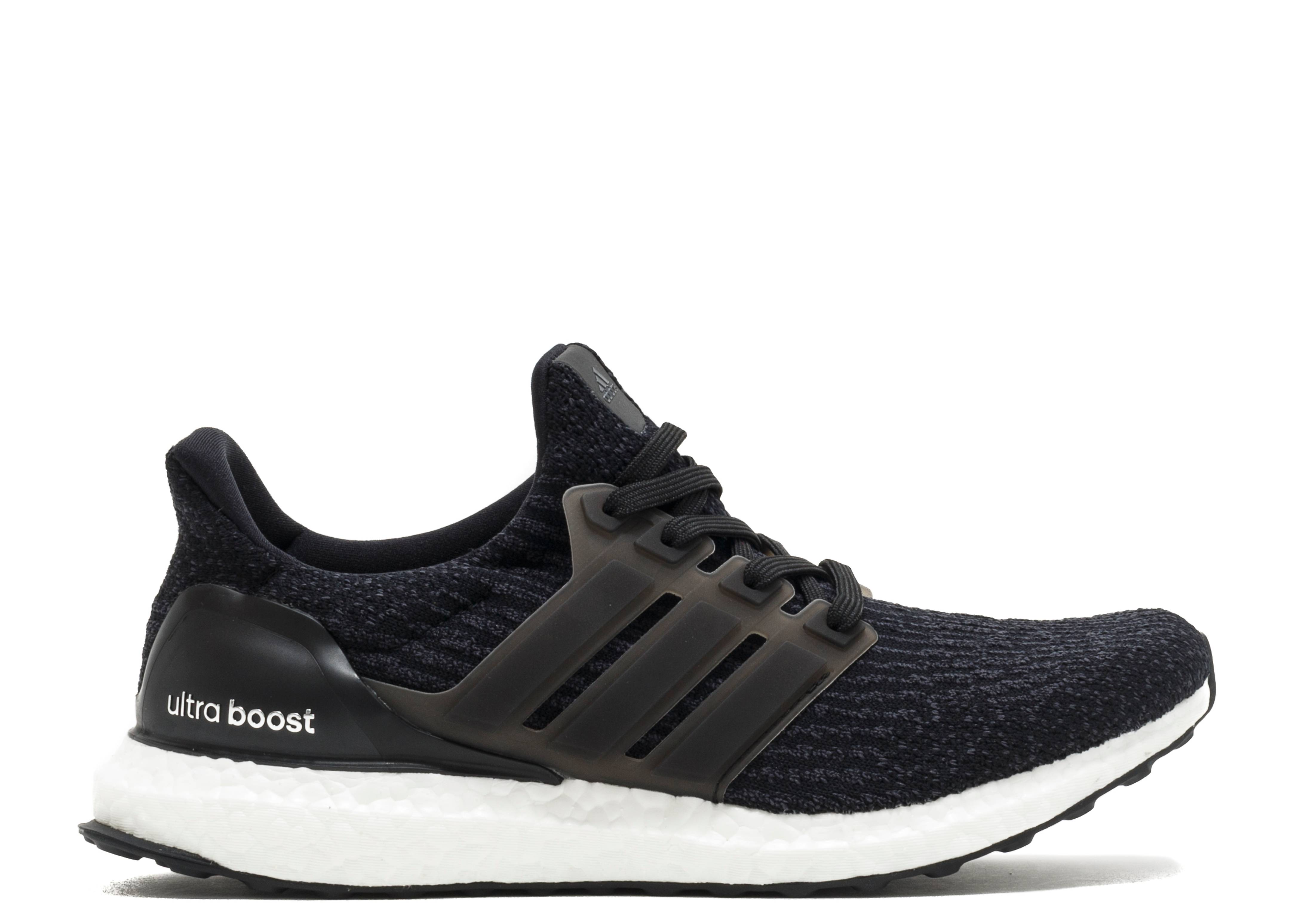 adidas boost black white