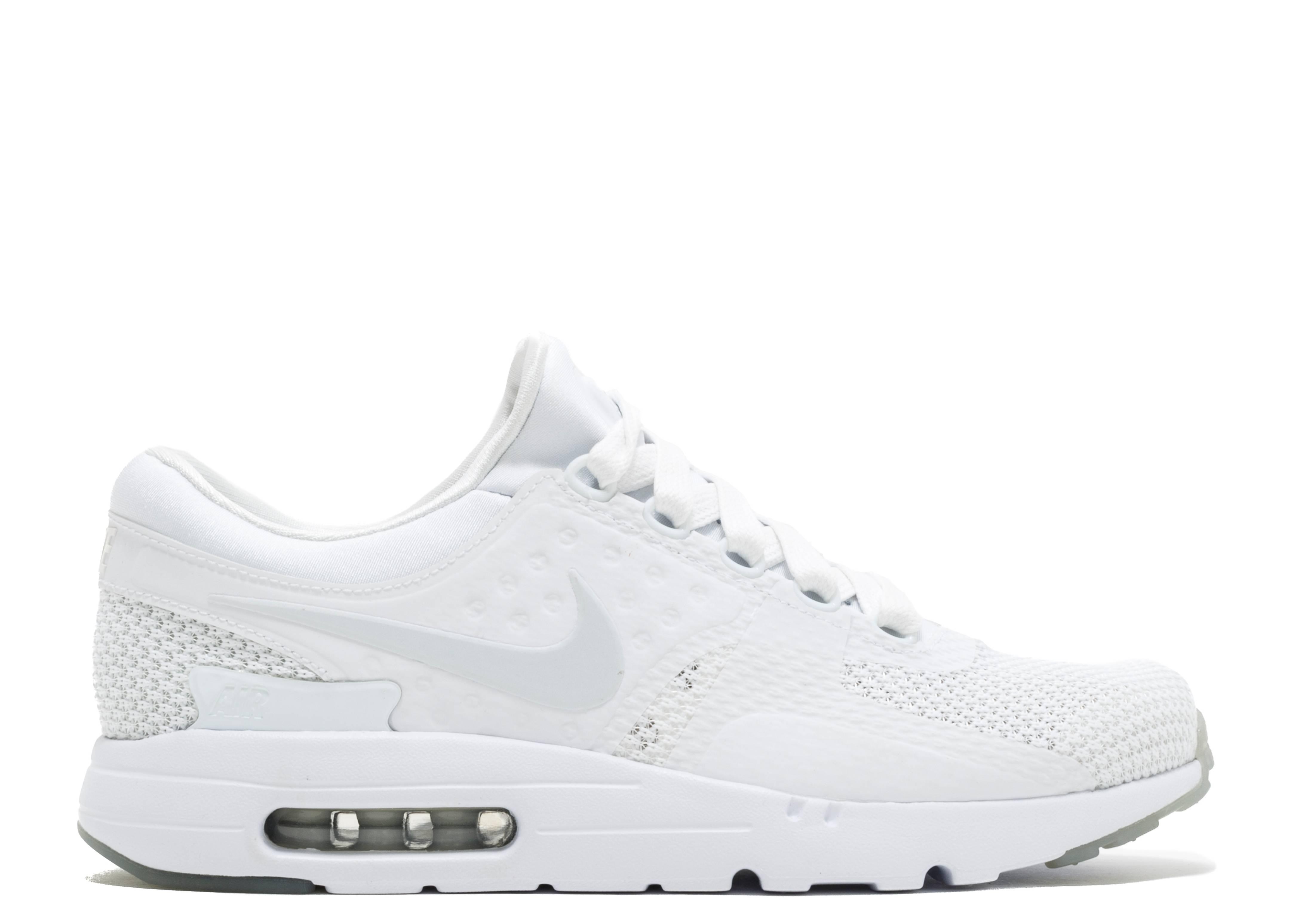 Air Max Zero Qs - Nike - 789695 102 - whitepure platinum-pr