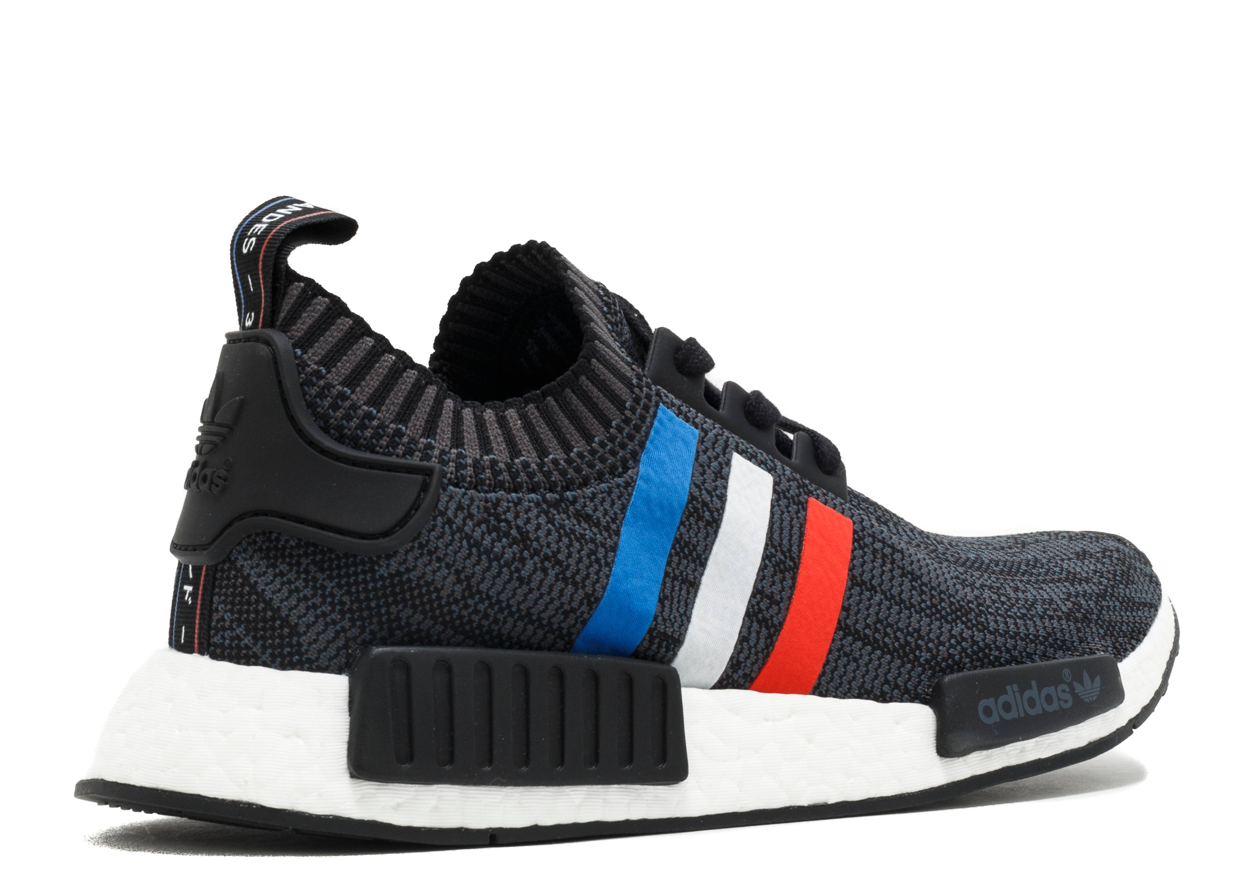 nmd r1 pk tri color cblack cred ftwhite nmd adidas. Black Bedroom Furniture Sets. Home Design Ideas