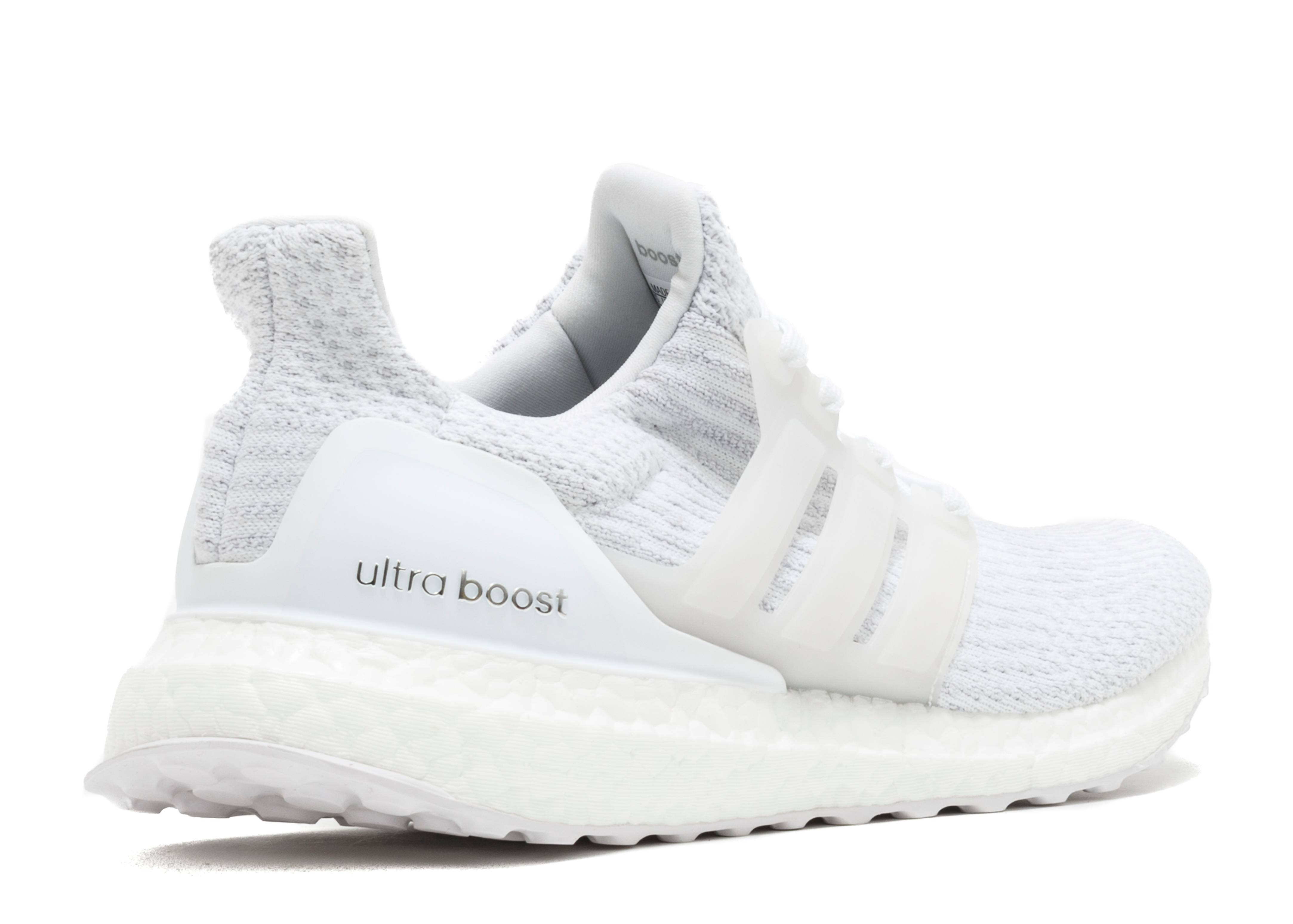 ultra boost 3 0 triple white white flight club. Black Bedroom Furniture Sets. Home Design Ideas