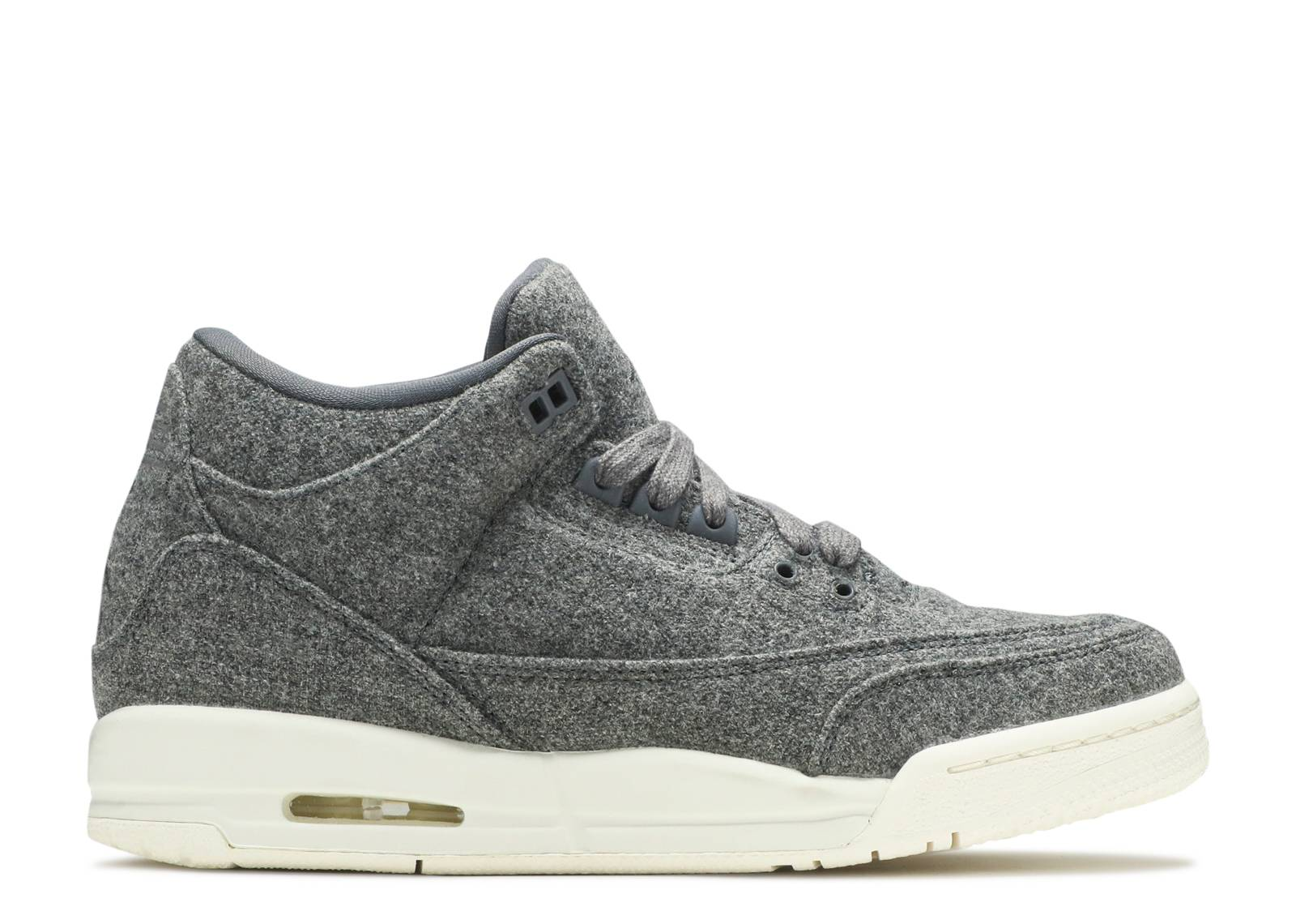 "air jordan 3 retro bg (gs) ""wool"""