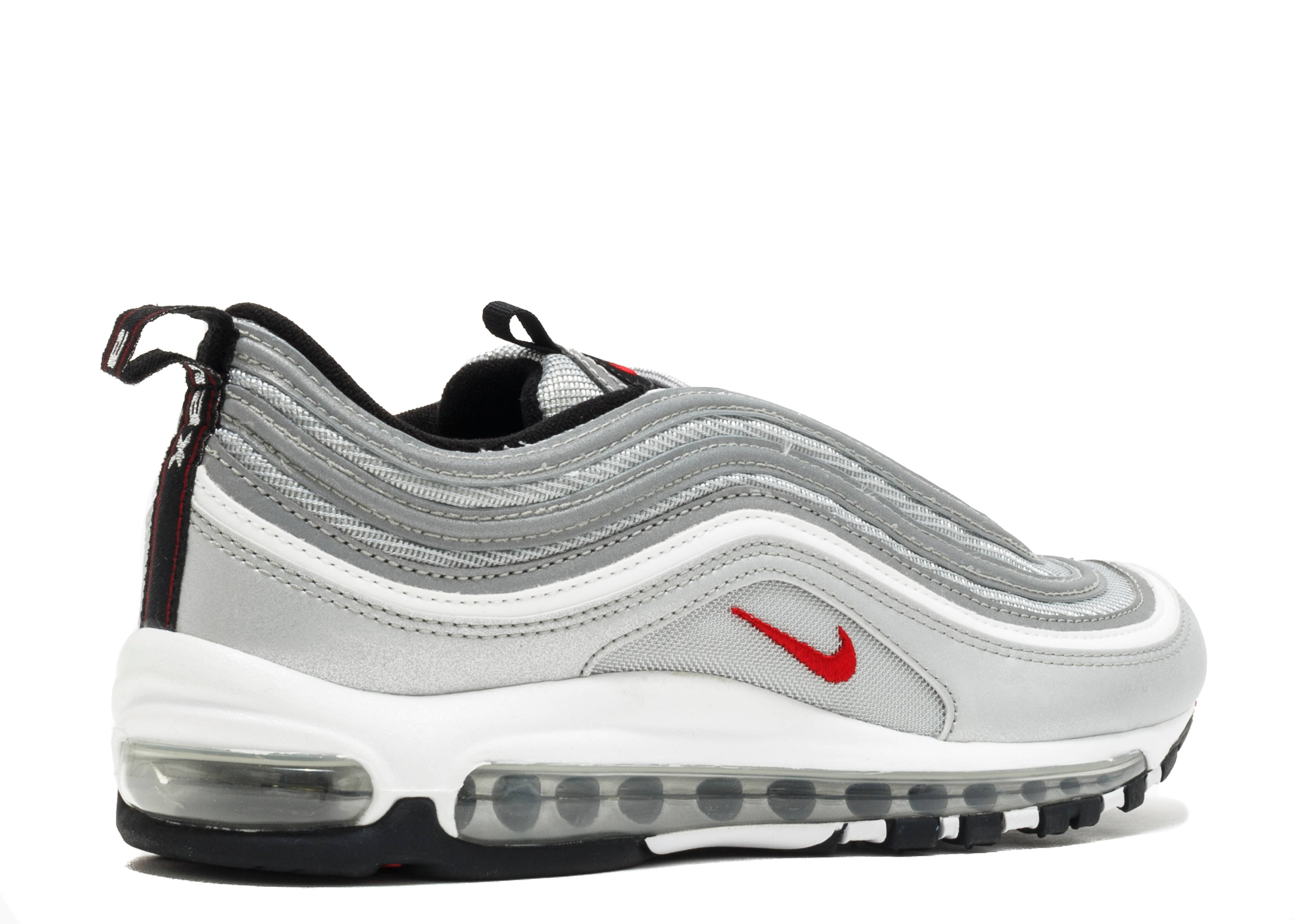 nike air max 97 silver bullet metallic silver varsity. Black Bedroom Furniture Sets. Home Design Ideas