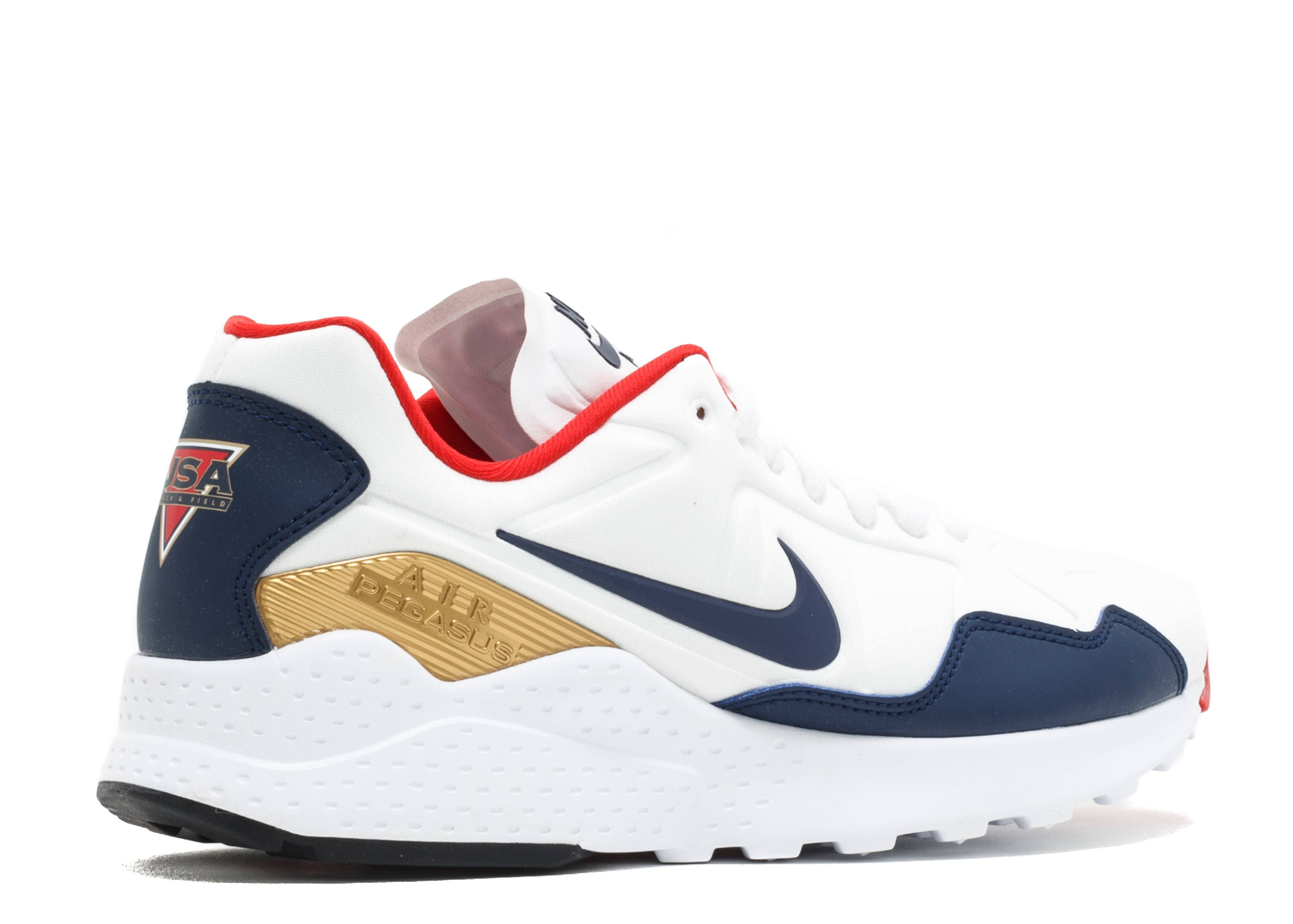 9b3892d326034e Air Zoom Pegasus 92 - Nike - 844652 100 - white midnight navy-mtllc gold