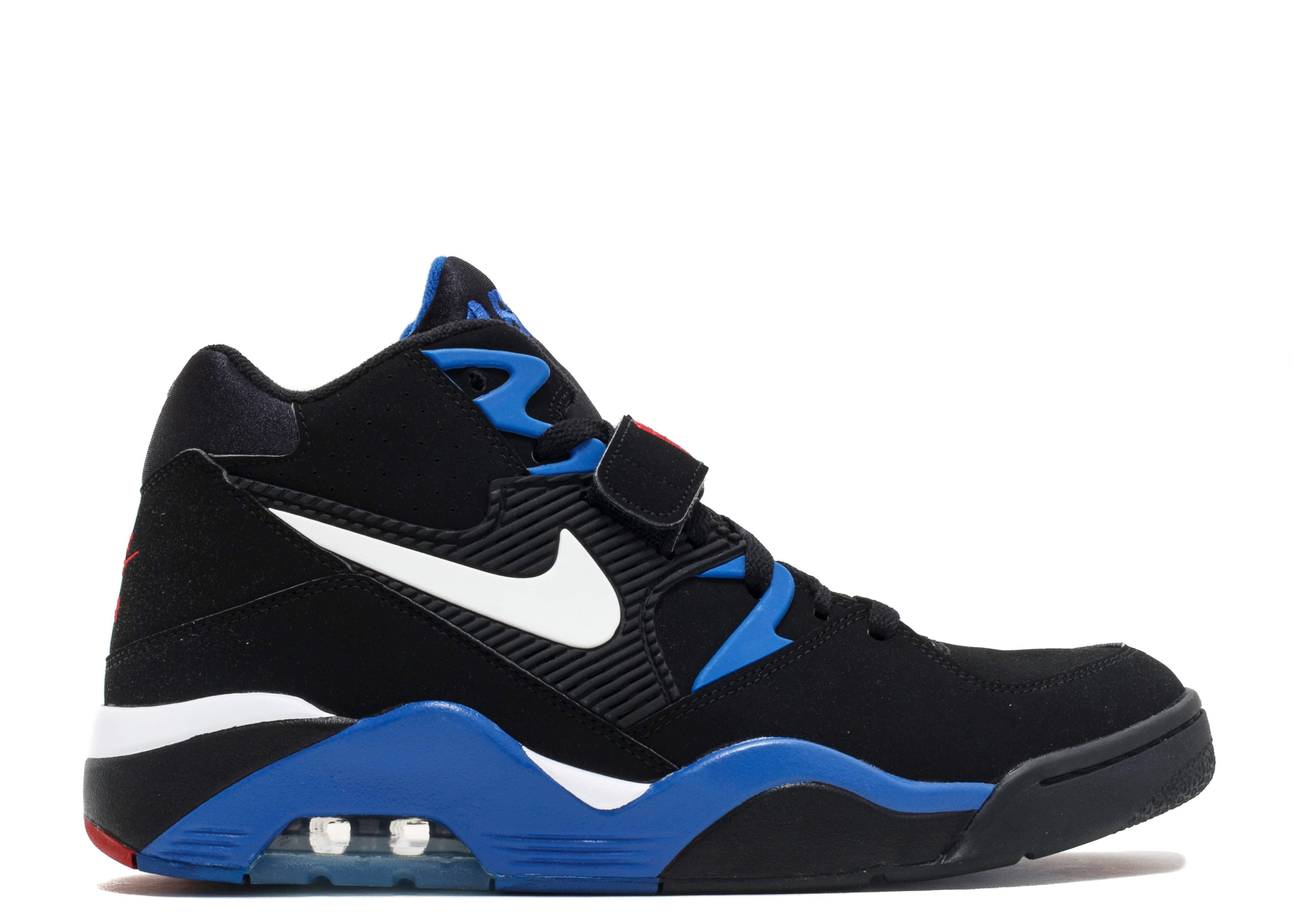 758c426ccc Air Force 180 - Nike - 310095 011 - blk/wht-sport royal-vrsty red | Flight  Club