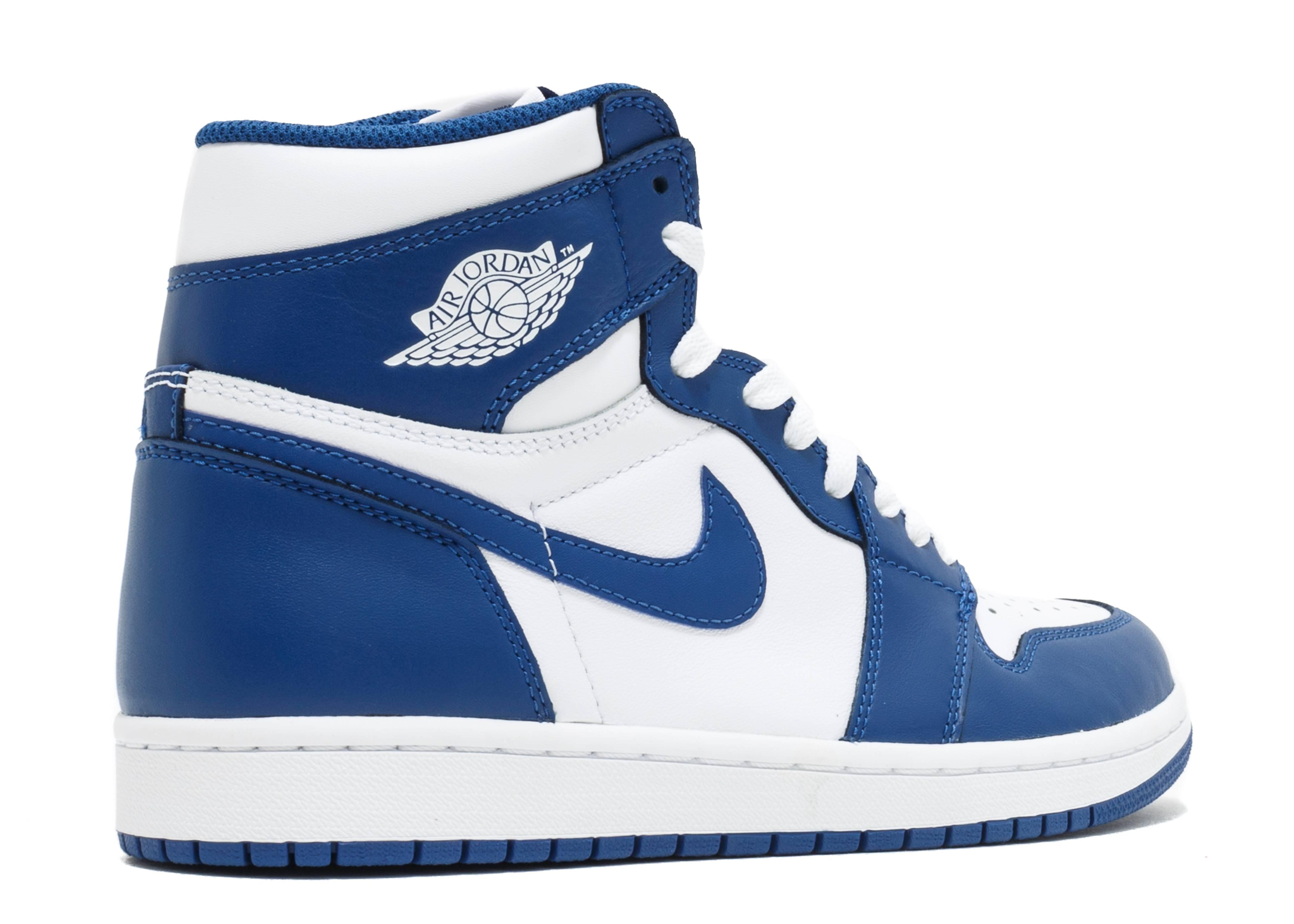"Air Jordan 1 Retro High Og ""storm Blue"" - Air Jordan ..."