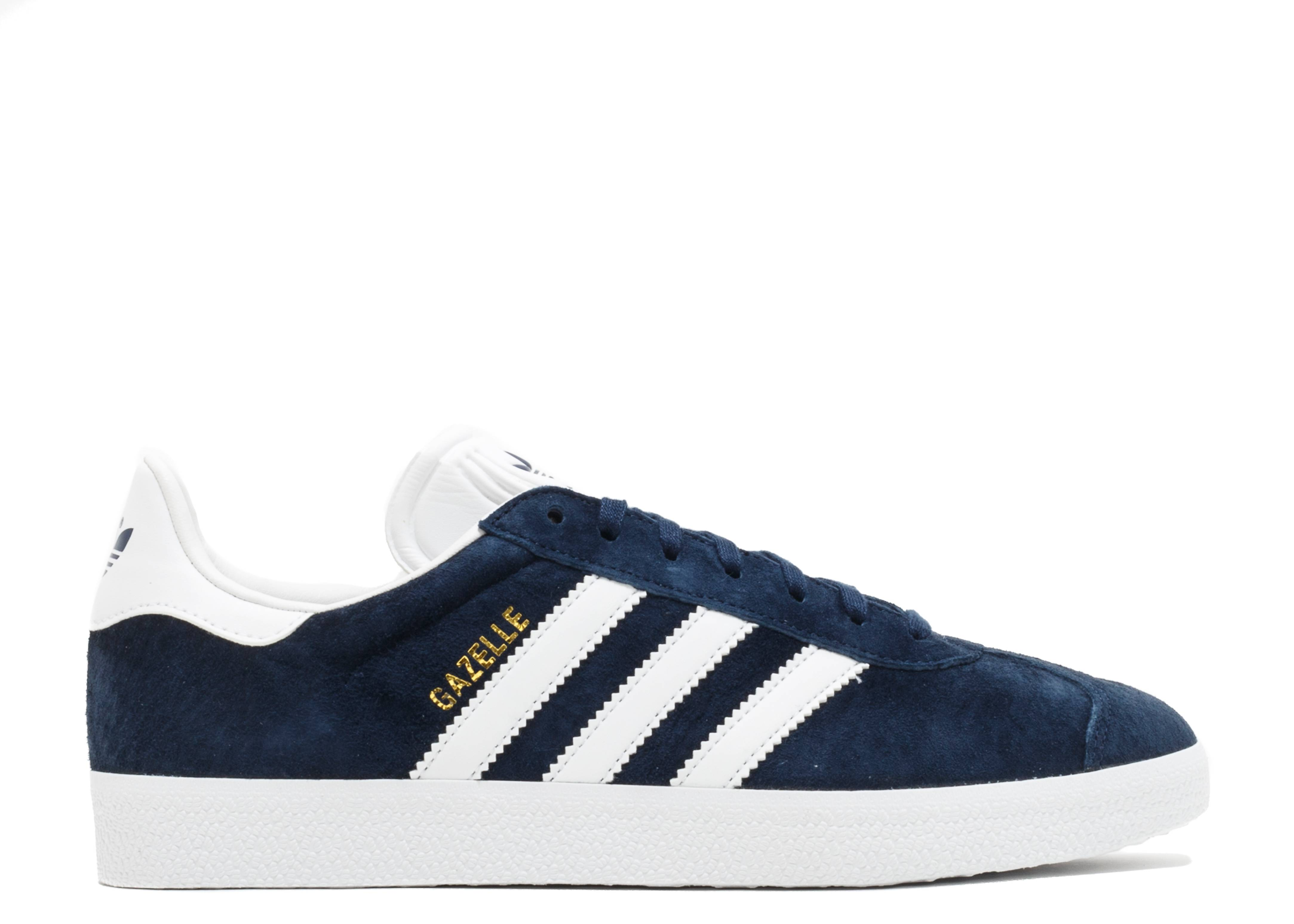 best service 77411 468f6 GAZELLE - Adidas - BB5478 - conavywhitegoldmt  Flight Club
