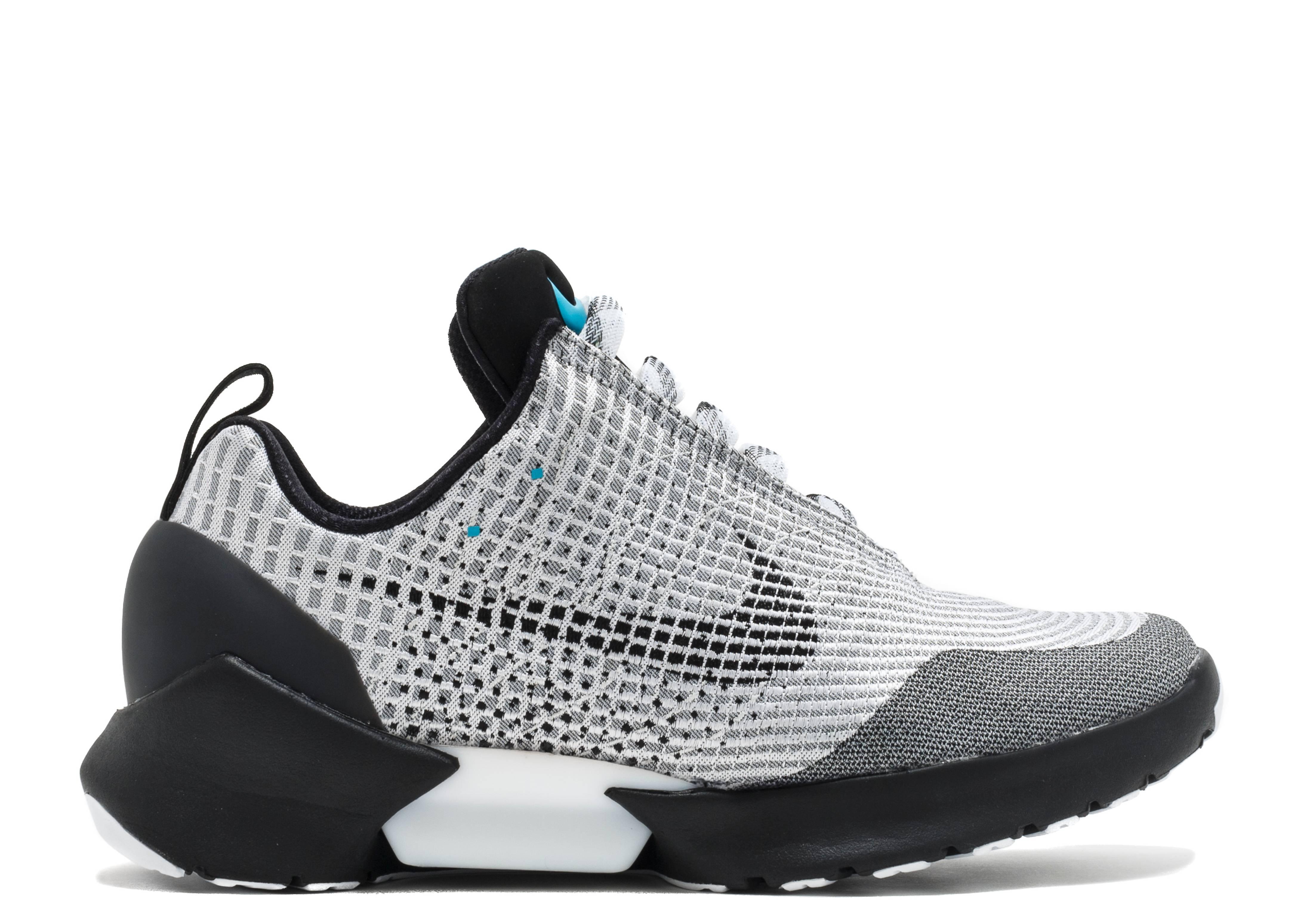 Nike Hyper Adapt 1.0 - Nike - 843871 002 - metallic silver black-white  6b53feafb