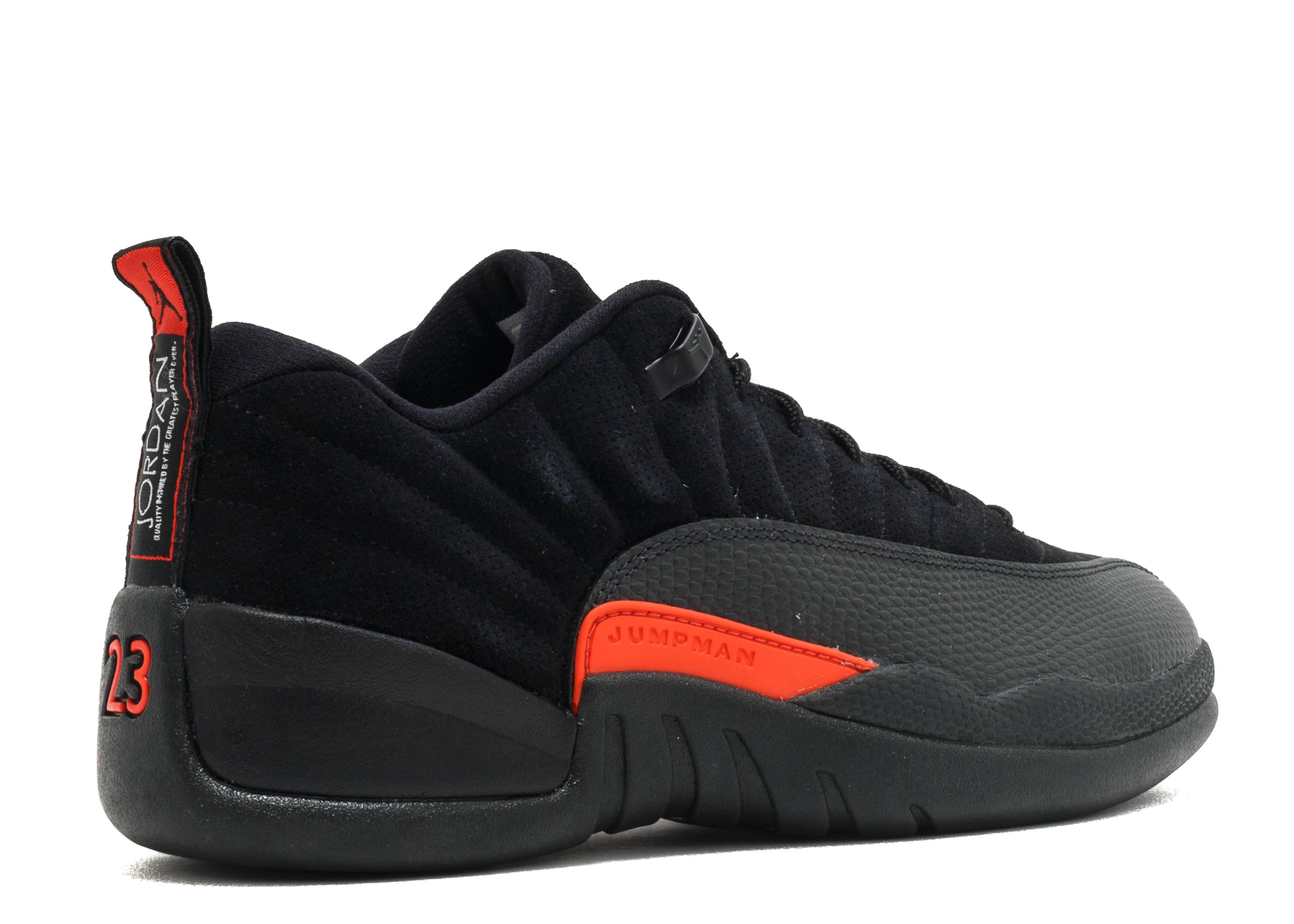 Jordan 12 Low Retro 'Max Orange' - Size 13 - Us Size POgUh