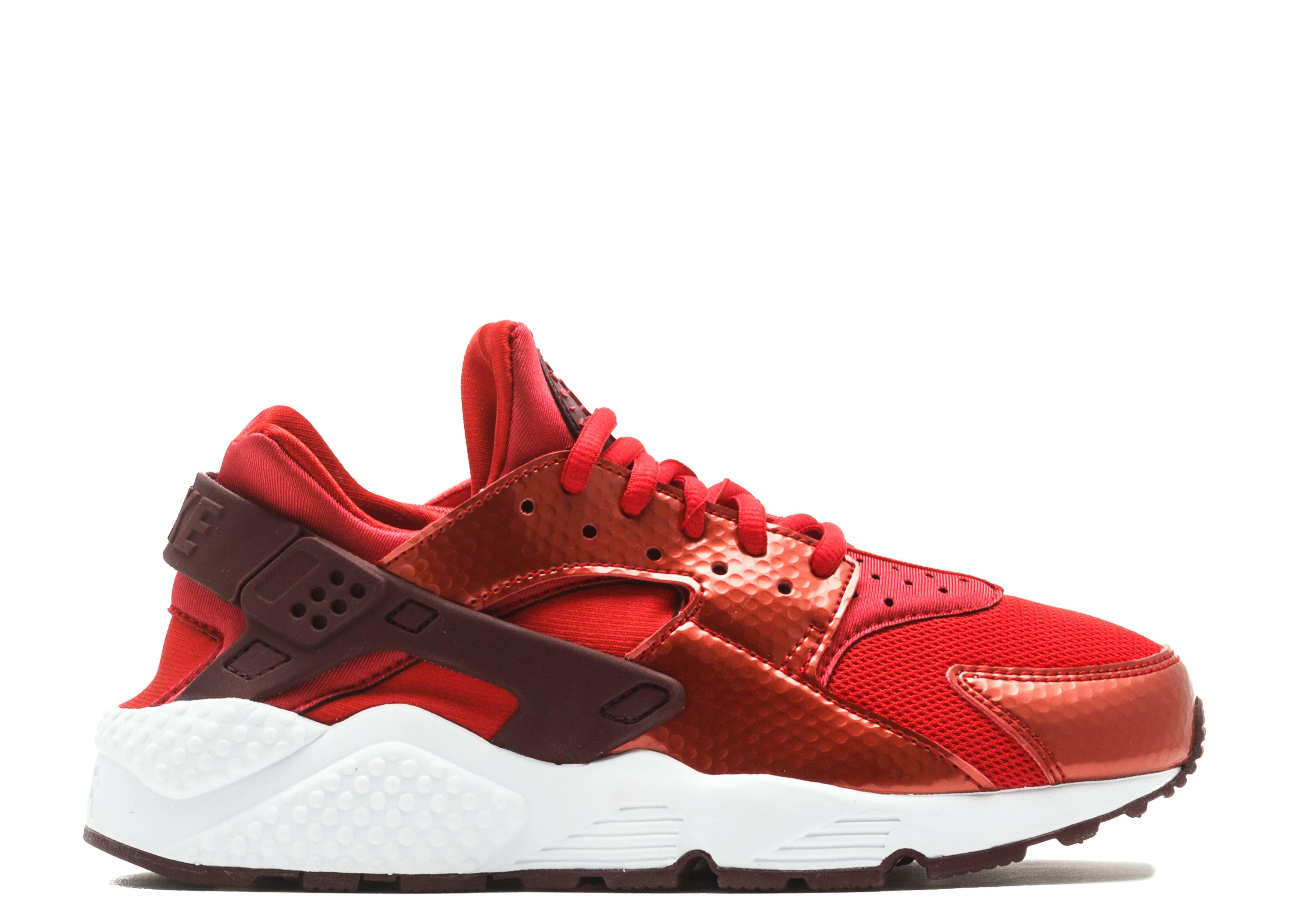 W s Air Huarache Run - Nike - 634835 605 - university red maroon-white  04c032f81cce