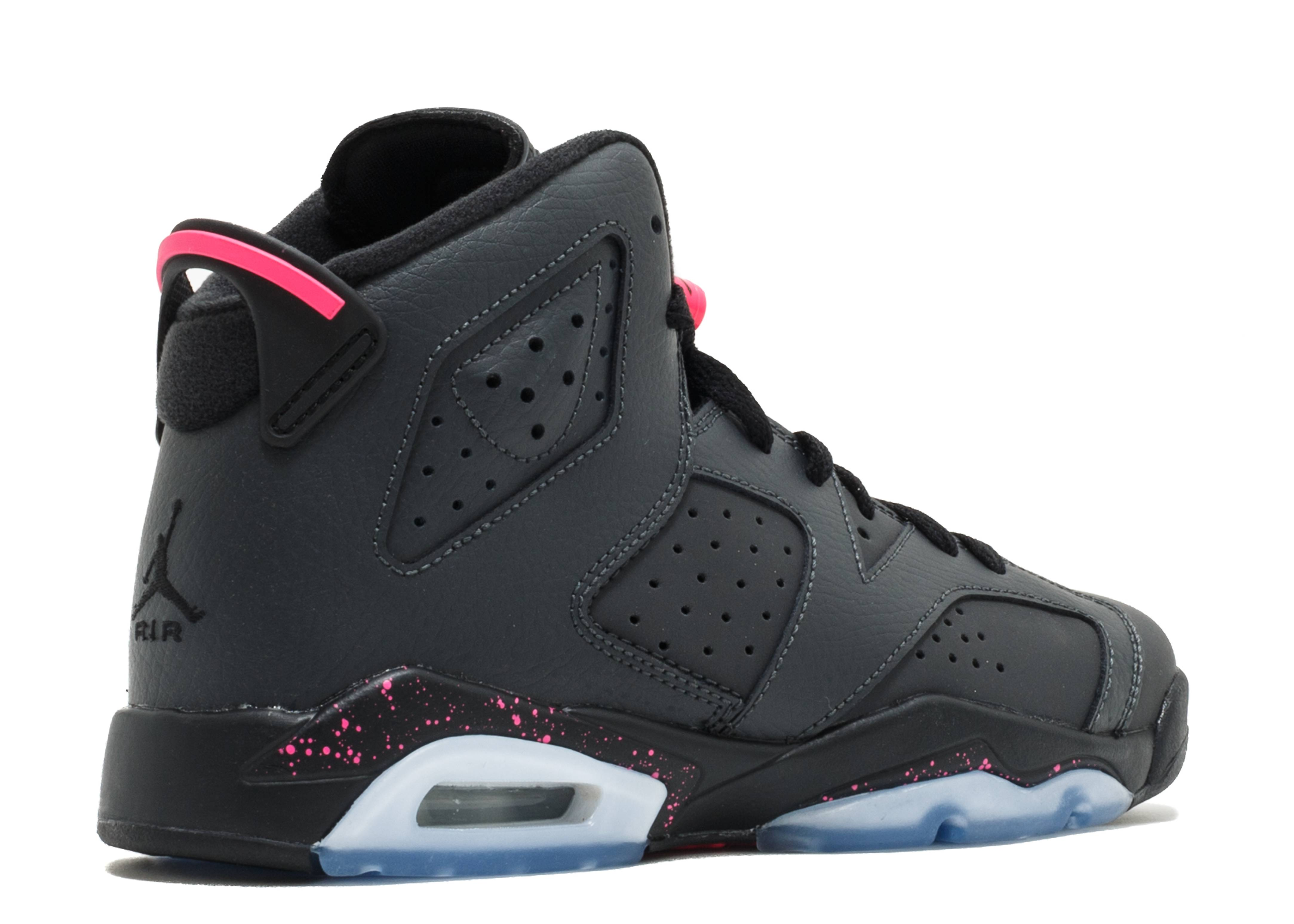 53e46587e9e ... coupon code for air jordan 6 retro gg gs hyper pink air jordan 543390  008 anthracite