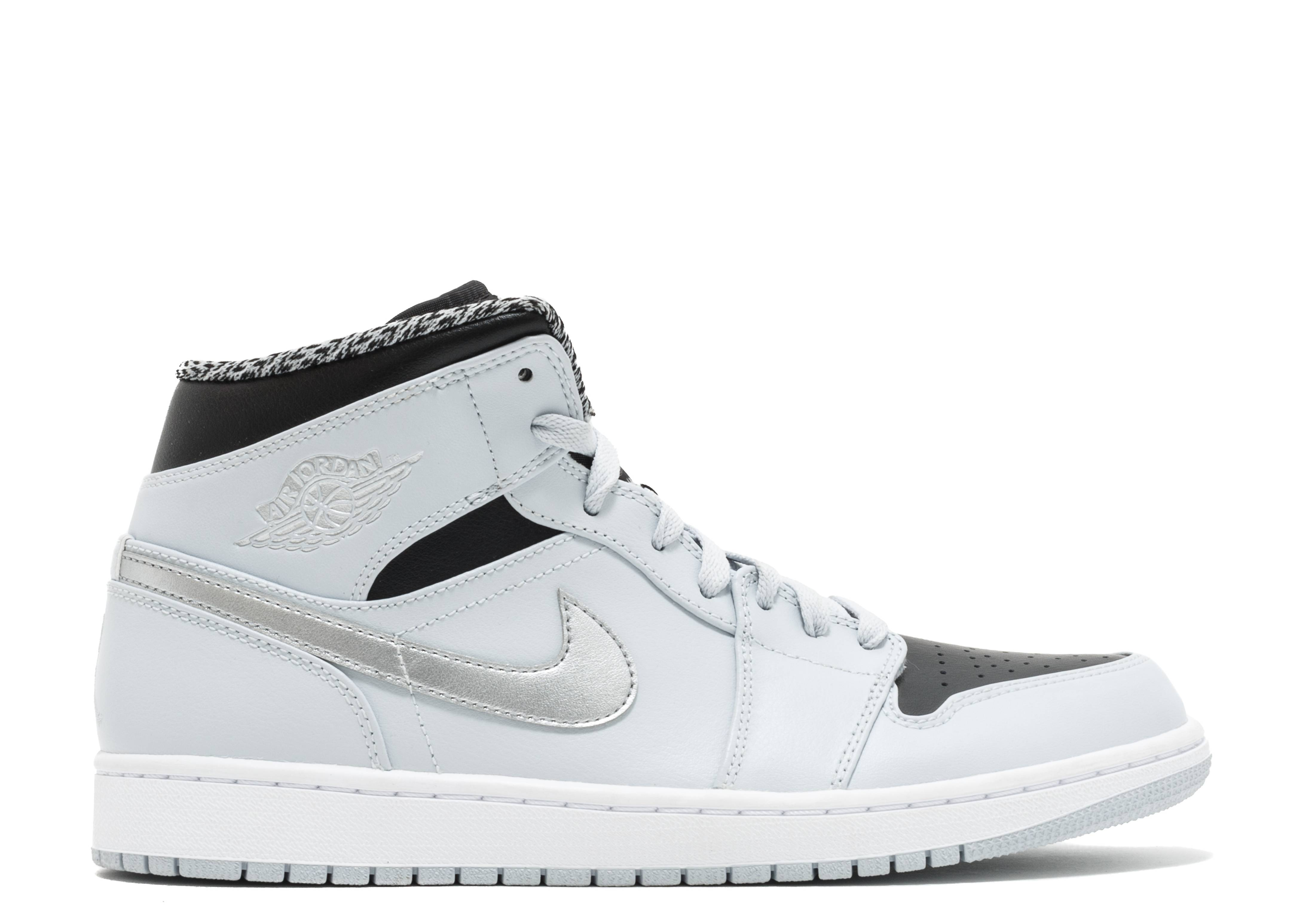 Retro 1 Grey' Air Mid 'wolf Jordan PkTXZuOi