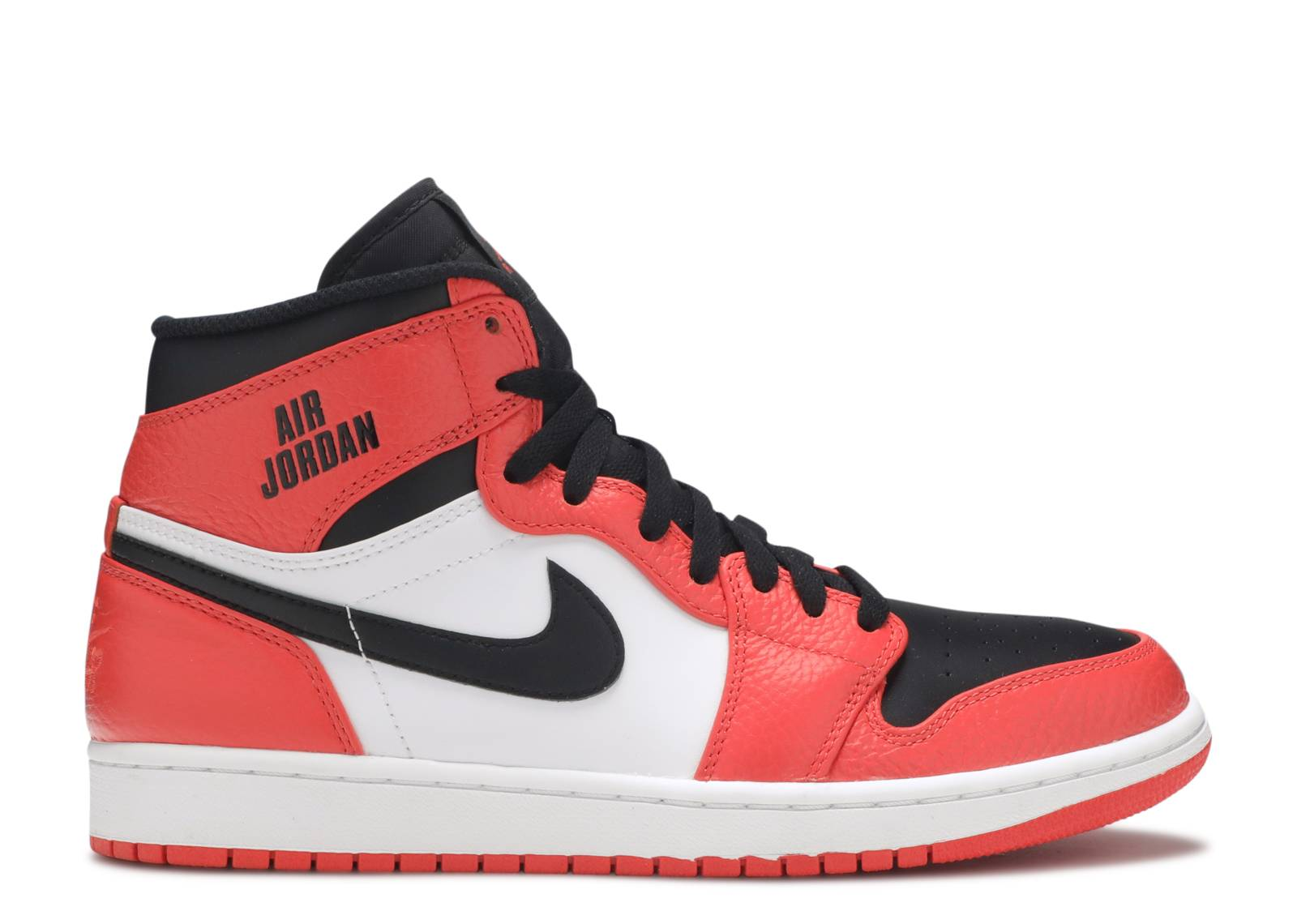 air jordan 1 orange et noir