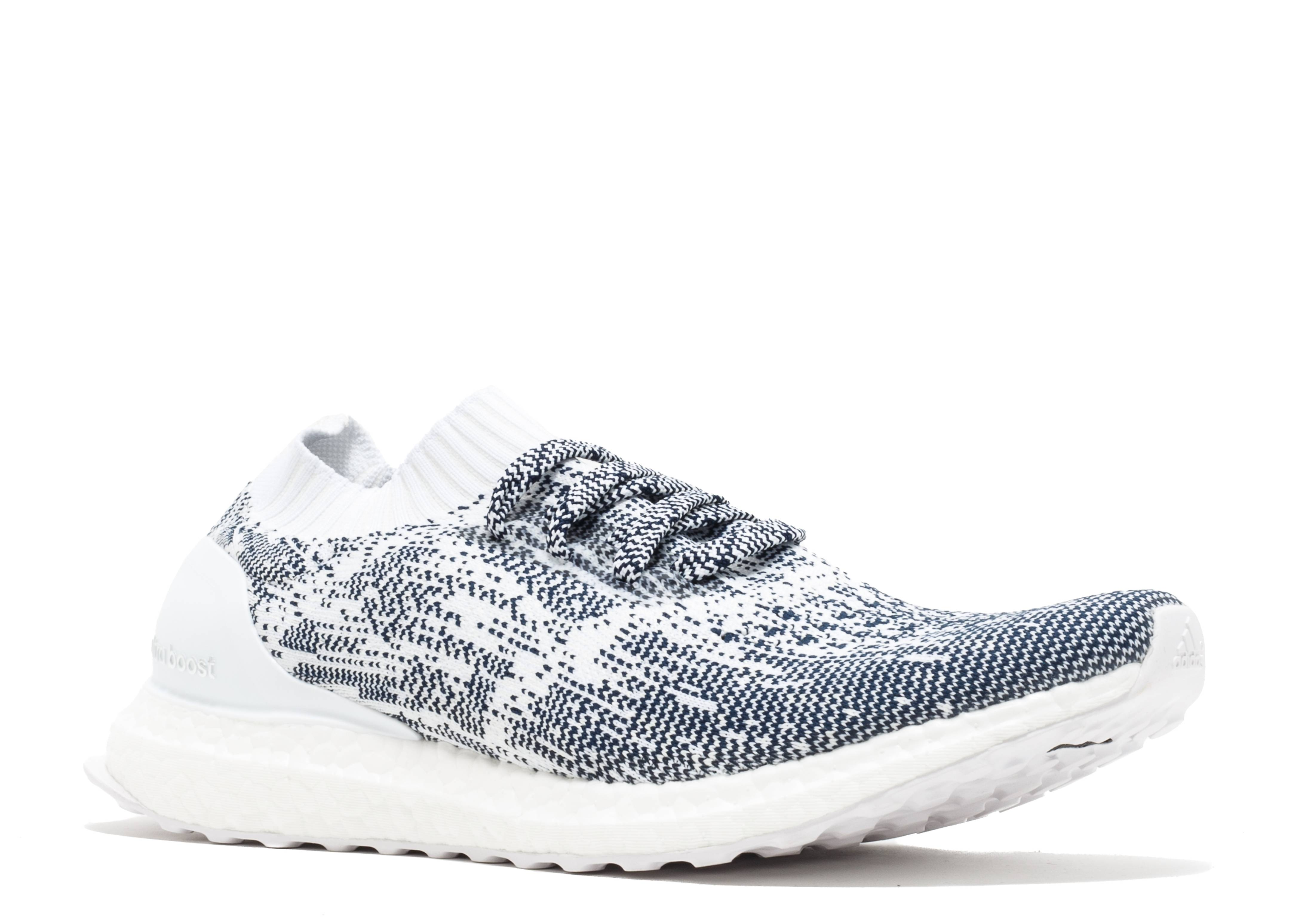 7b262022be92f Adidas Ultra Boost Uncaged Non Dyed White Oreo - 1