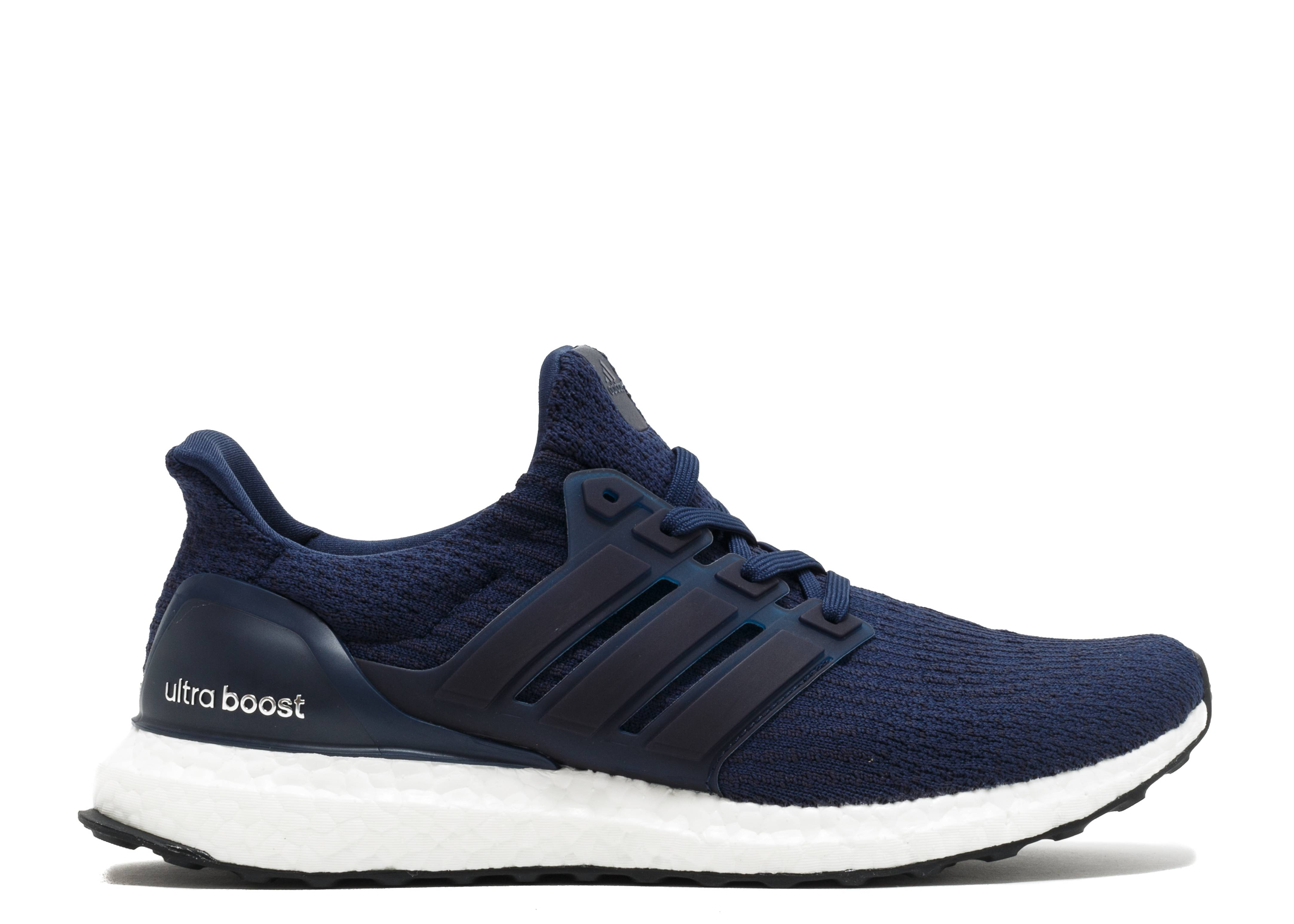 ultra boost 3 0 adidas ba8843 navy white flight club. Black Bedroom Furniture Sets. Home Design Ideas