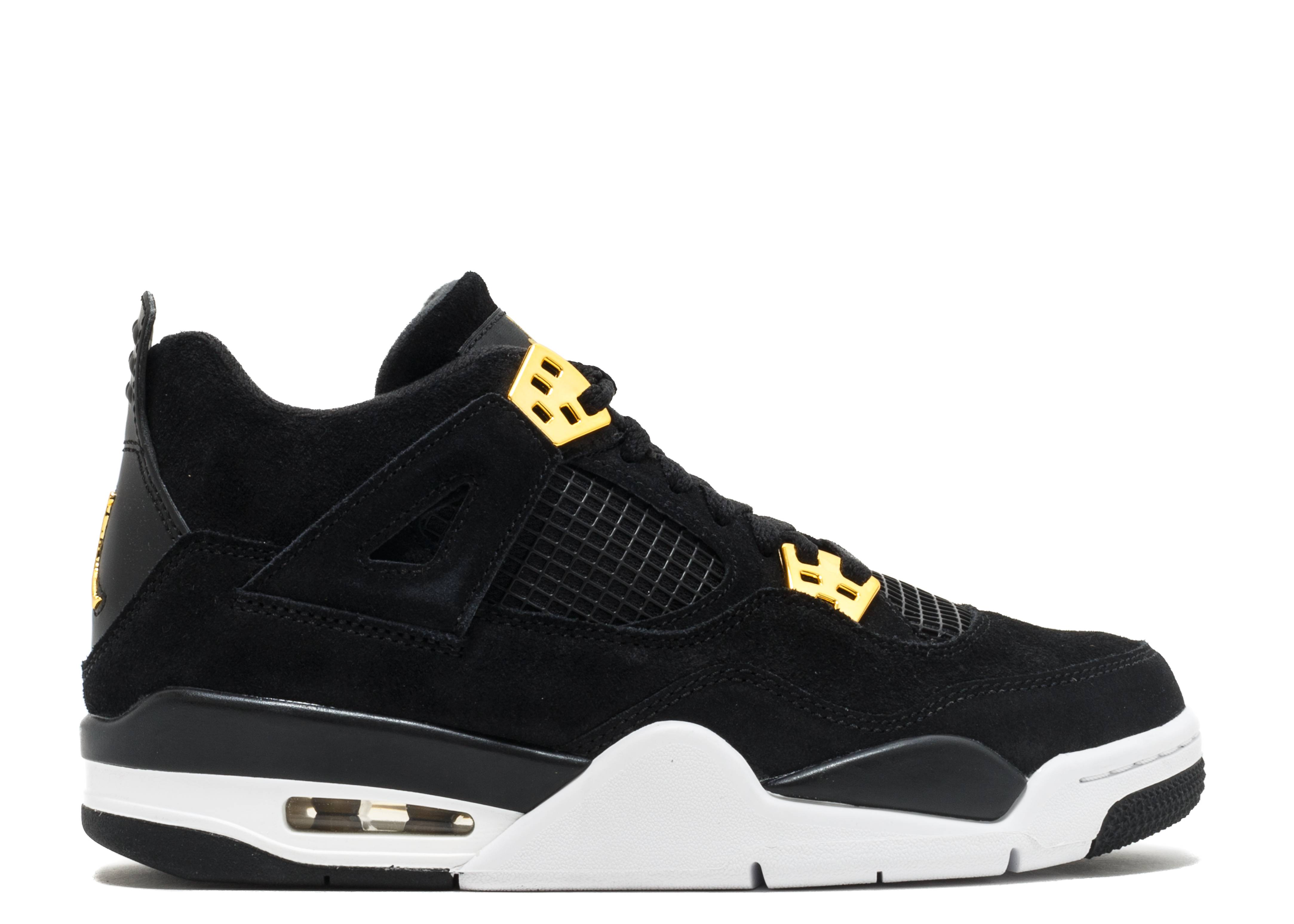 "air jordan 4 retro bg (gs) ""royalty"""