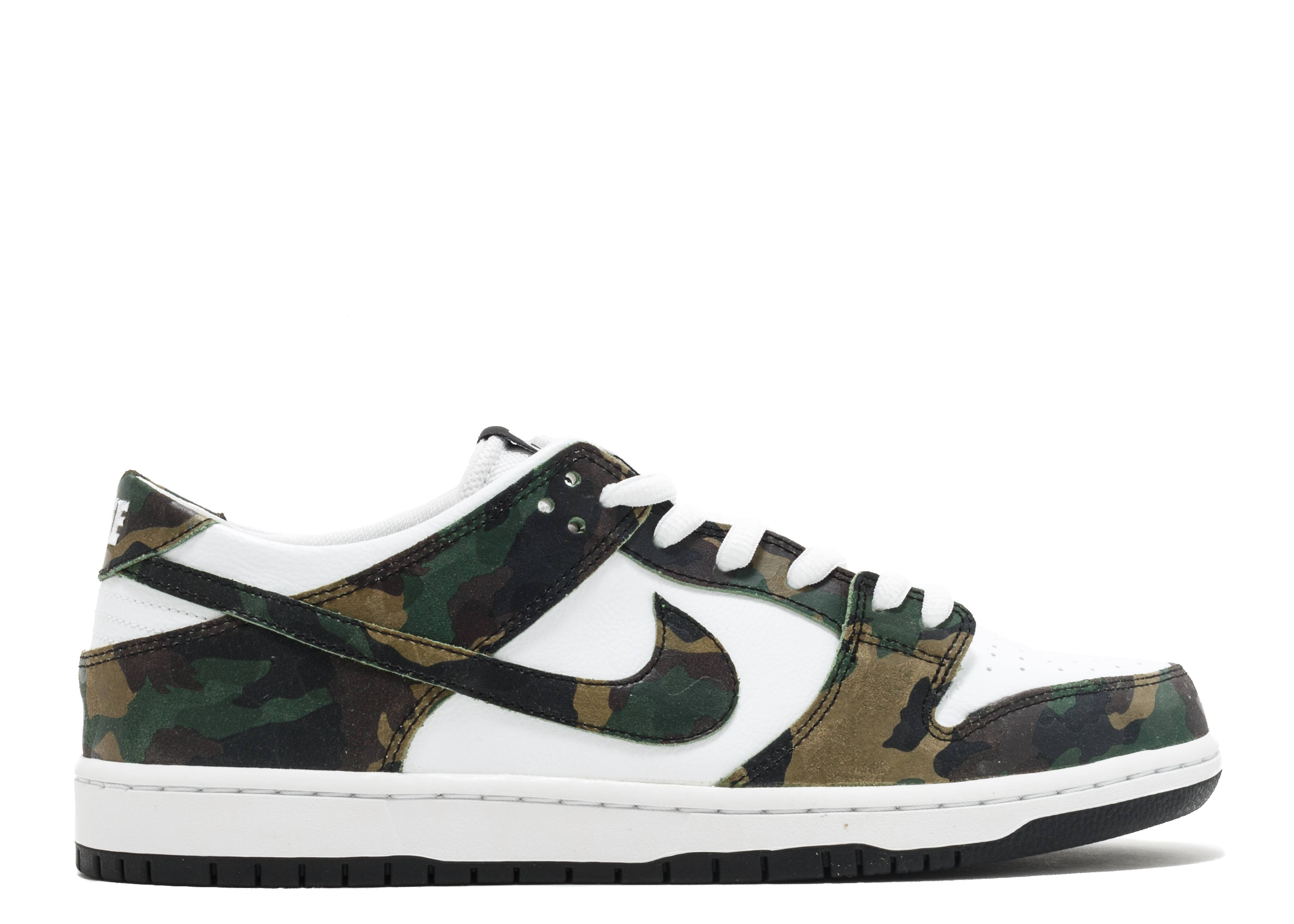 nike sb zoom dunk low pro camo nike 854866 331. Black Bedroom Furniture Sets. Home Design Ideas