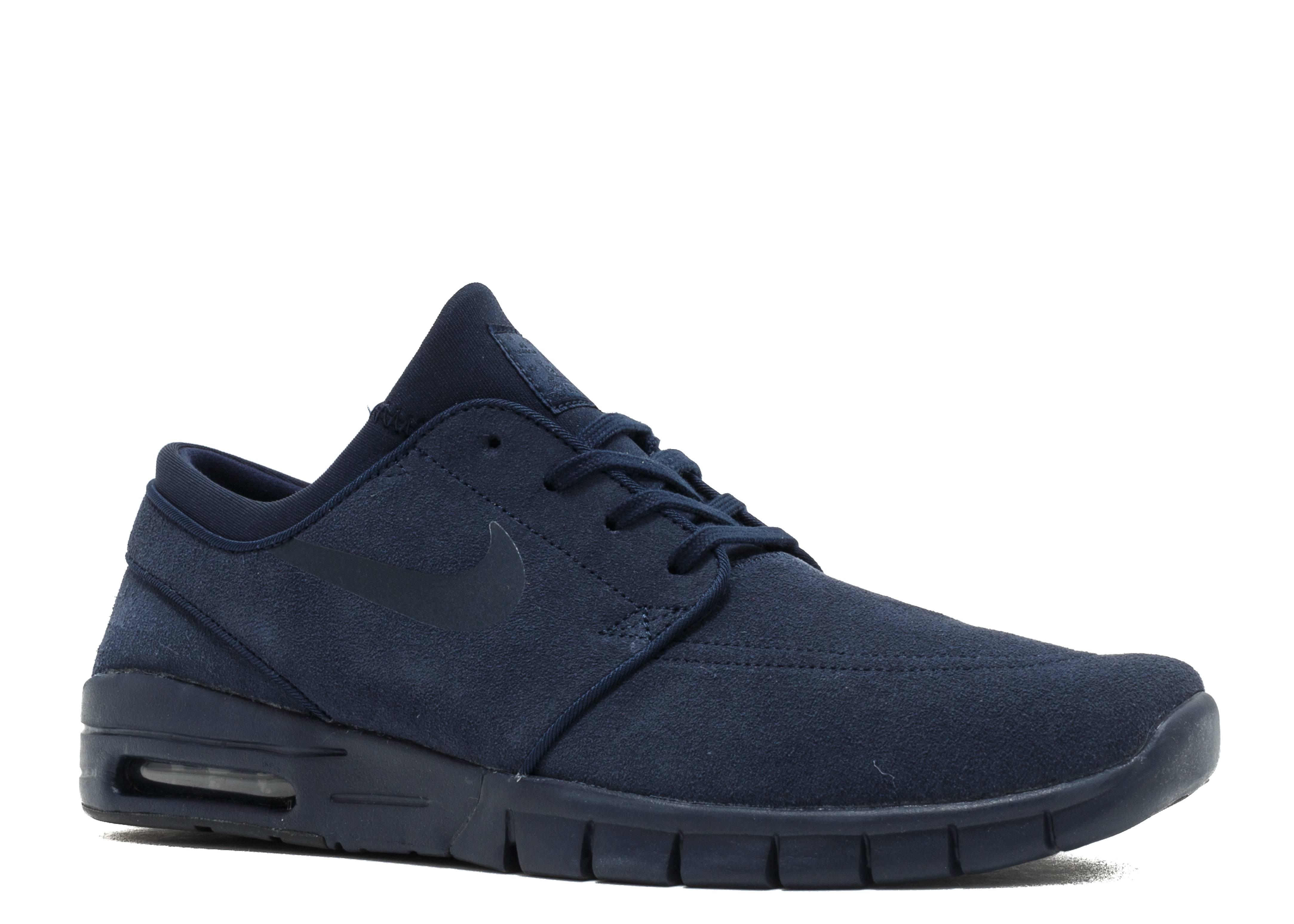 hot sale online bfd37 8f929 Nike Stefan Janoski Max L - Nike - 685299 440 - obsidian dark obsidian    Flight Club