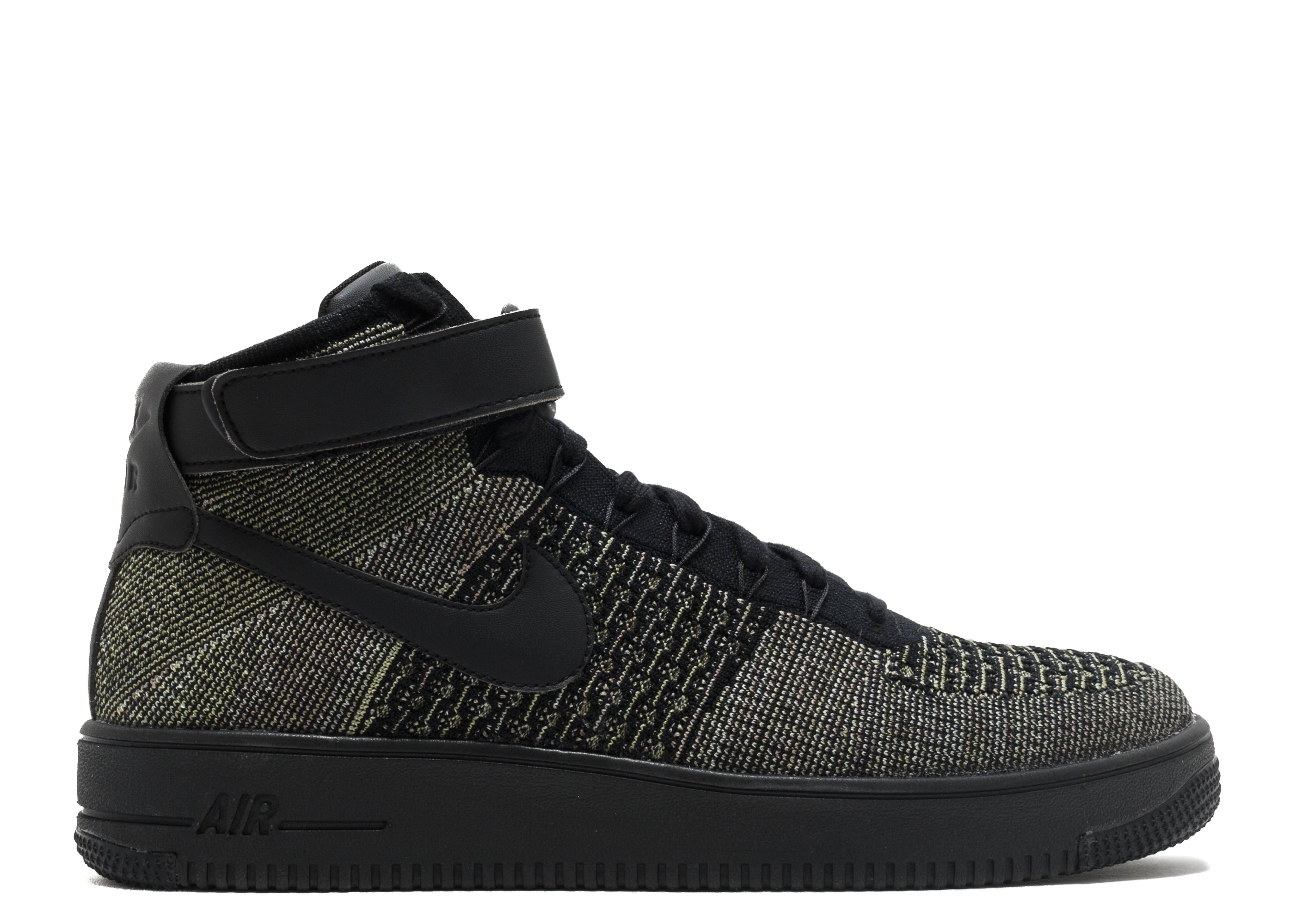 Cheap Nike Sportswear Air Force 1 Ultra Flyknit Mid Palm Green Basketball Shoes for Men Online Sale