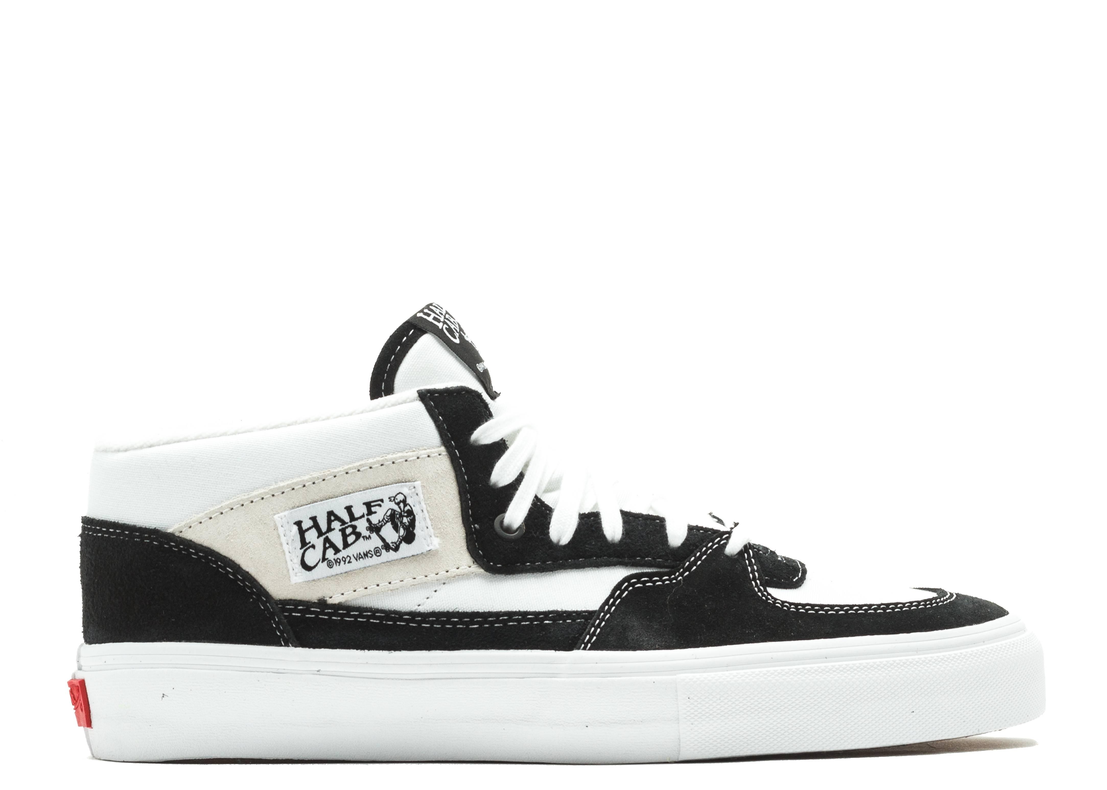 Black OG Half Cab LX Mid-Top Sneakers Vans hXZHizD