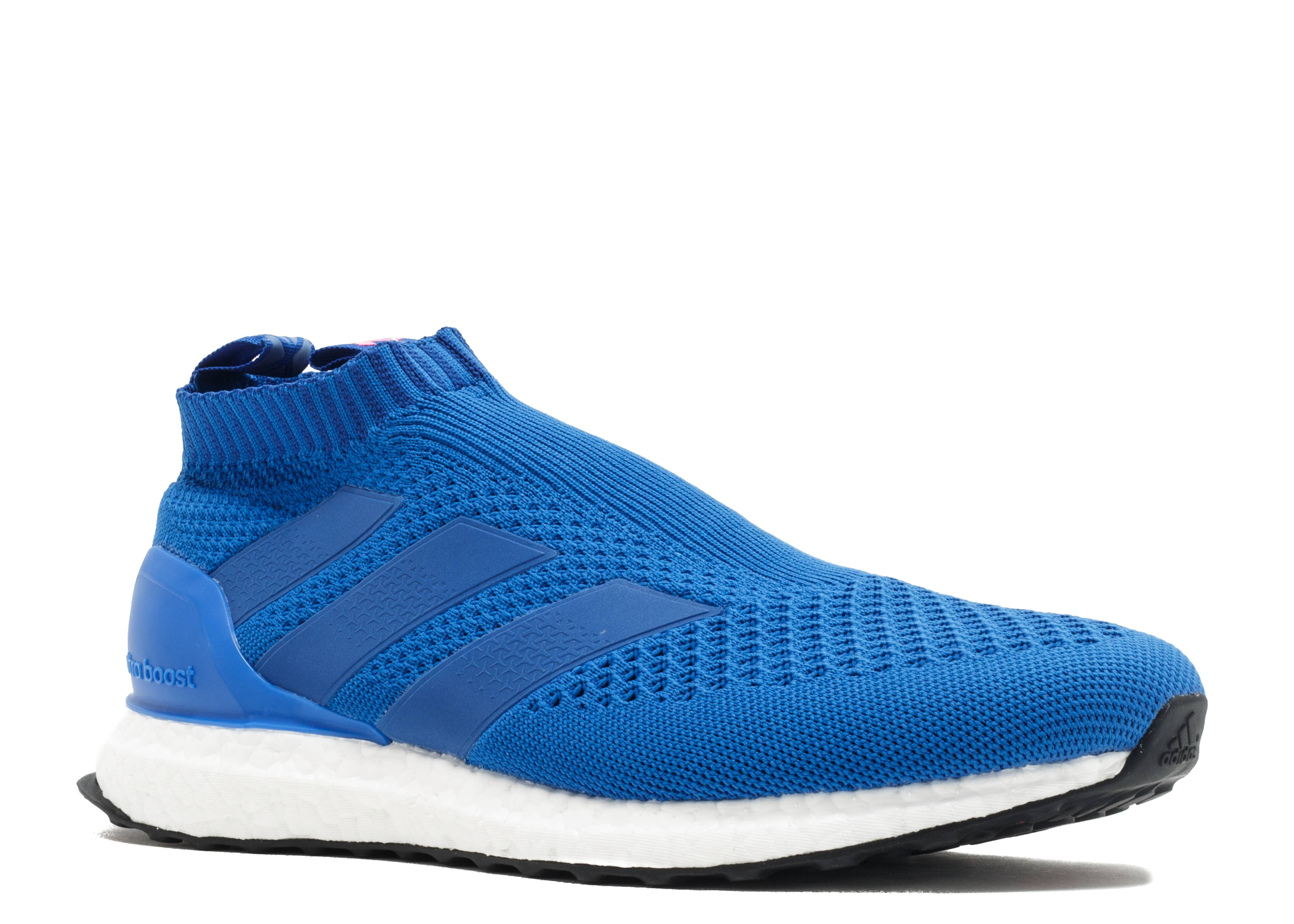 ADIDAS ACE 16+ Purecontrol Ultra Boost Blue Sz 9.5 By9090