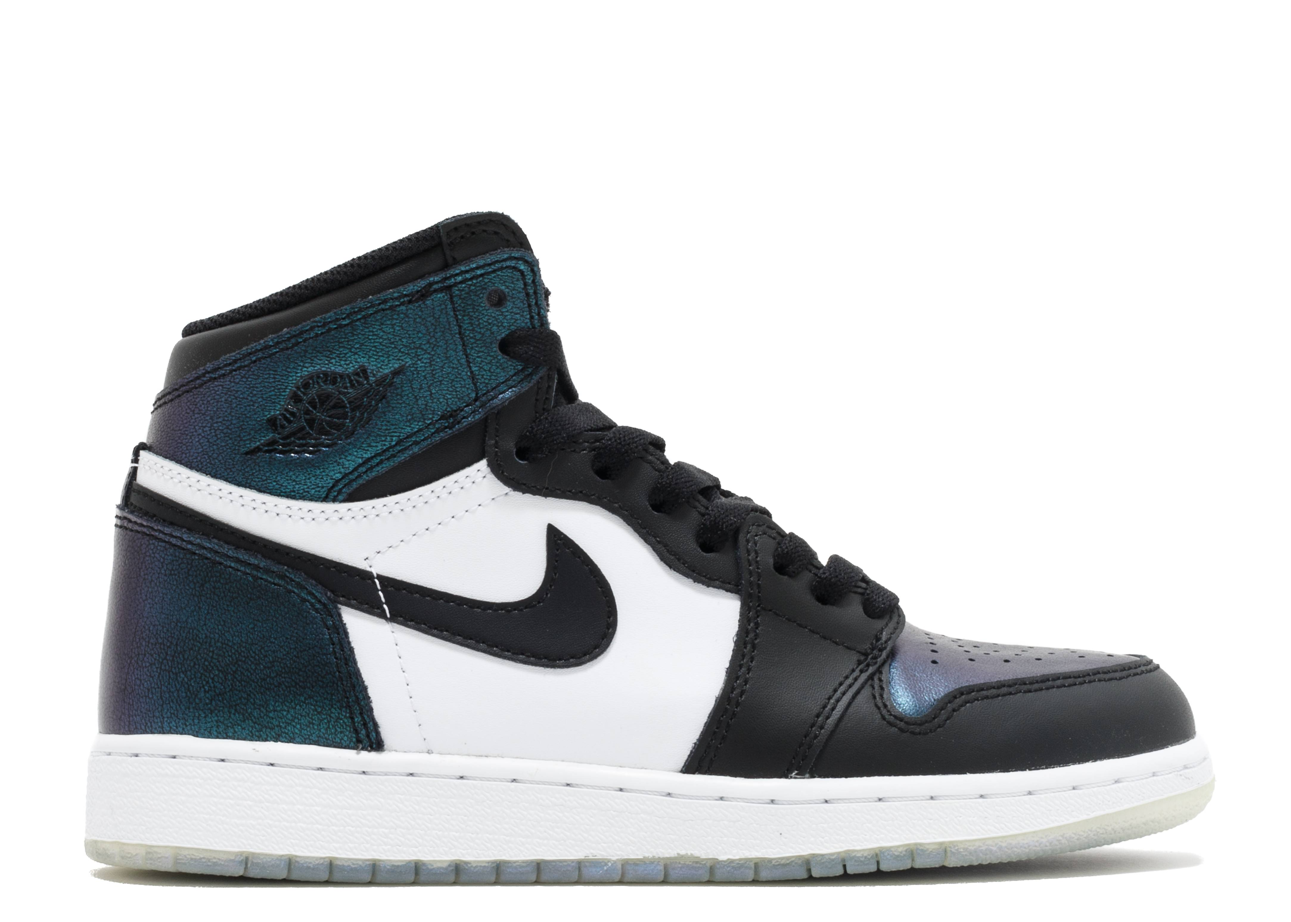"air jordan 1 retro high og as bg (gs) ""all-star chameleon"""