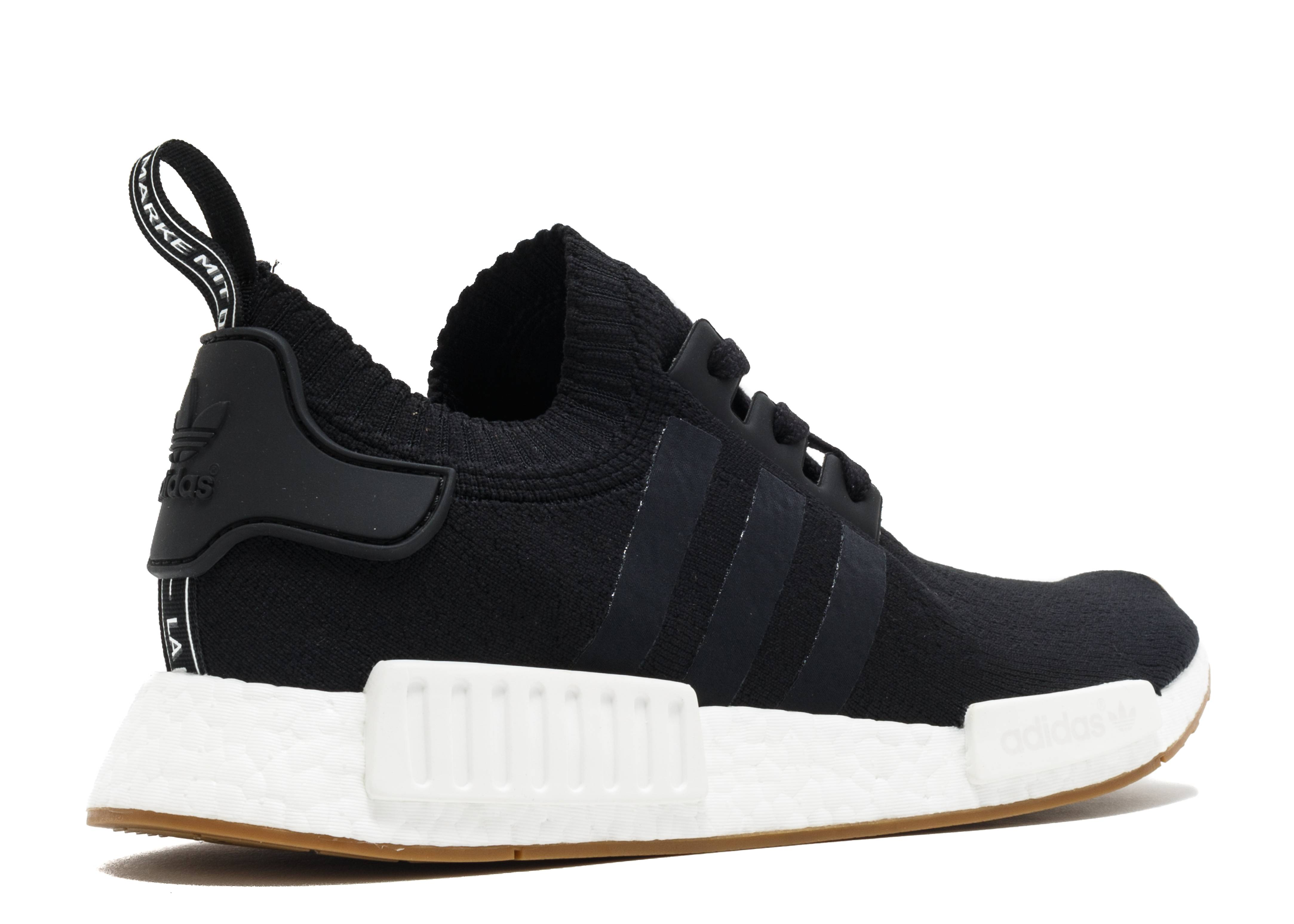 nmd r1 pk gum pack adidas by1887 black white gum. Black Bedroom Furniture Sets. Home Design Ideas