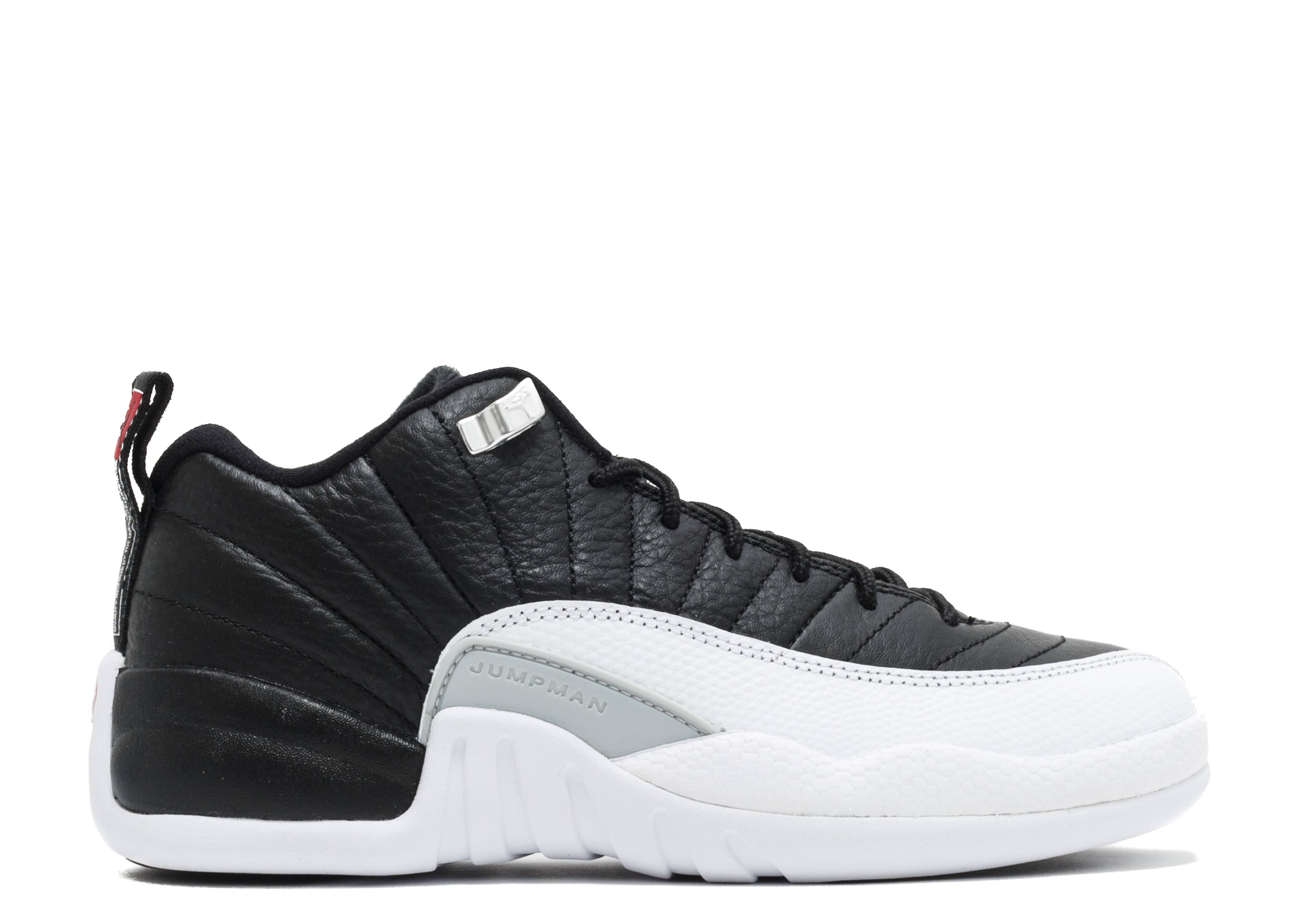 "air jordan 12 reto low bg (gs) ""Playoff"""