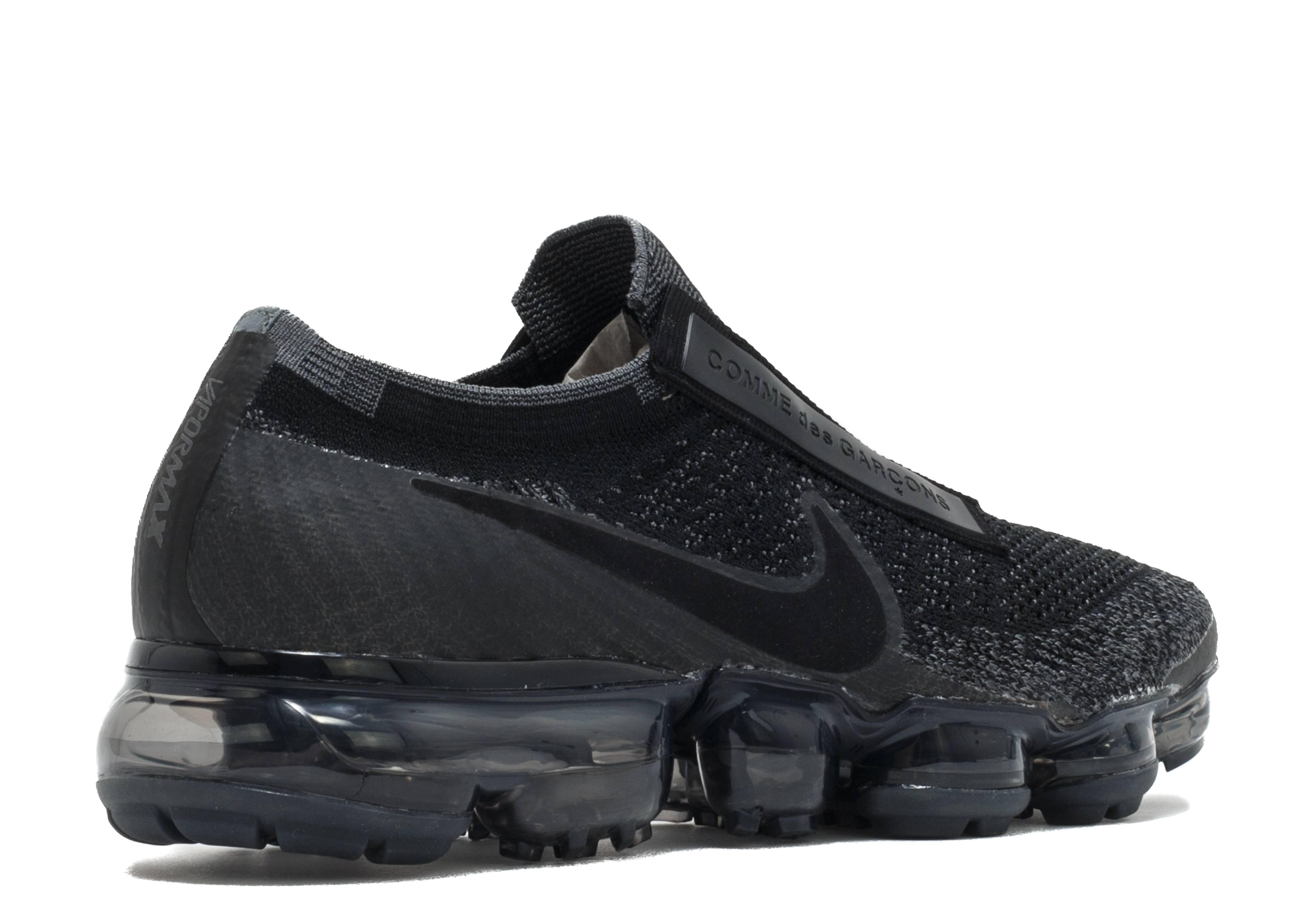 c8dc655d17a9b Nike Air VaporMax Flyknit SE Laceless No Strings Black Size 105