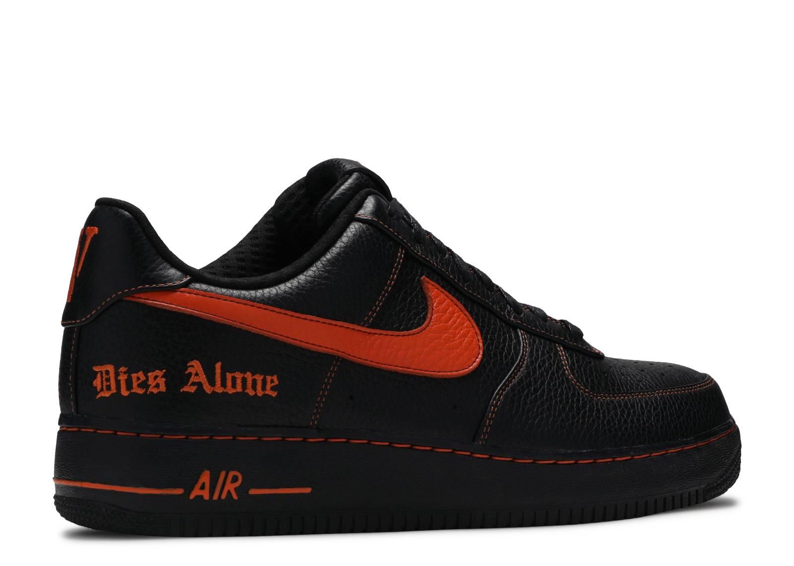 Vlone X NikeLab Air Force 1 'Vlone' - Nike - AA5360 001 - black ...