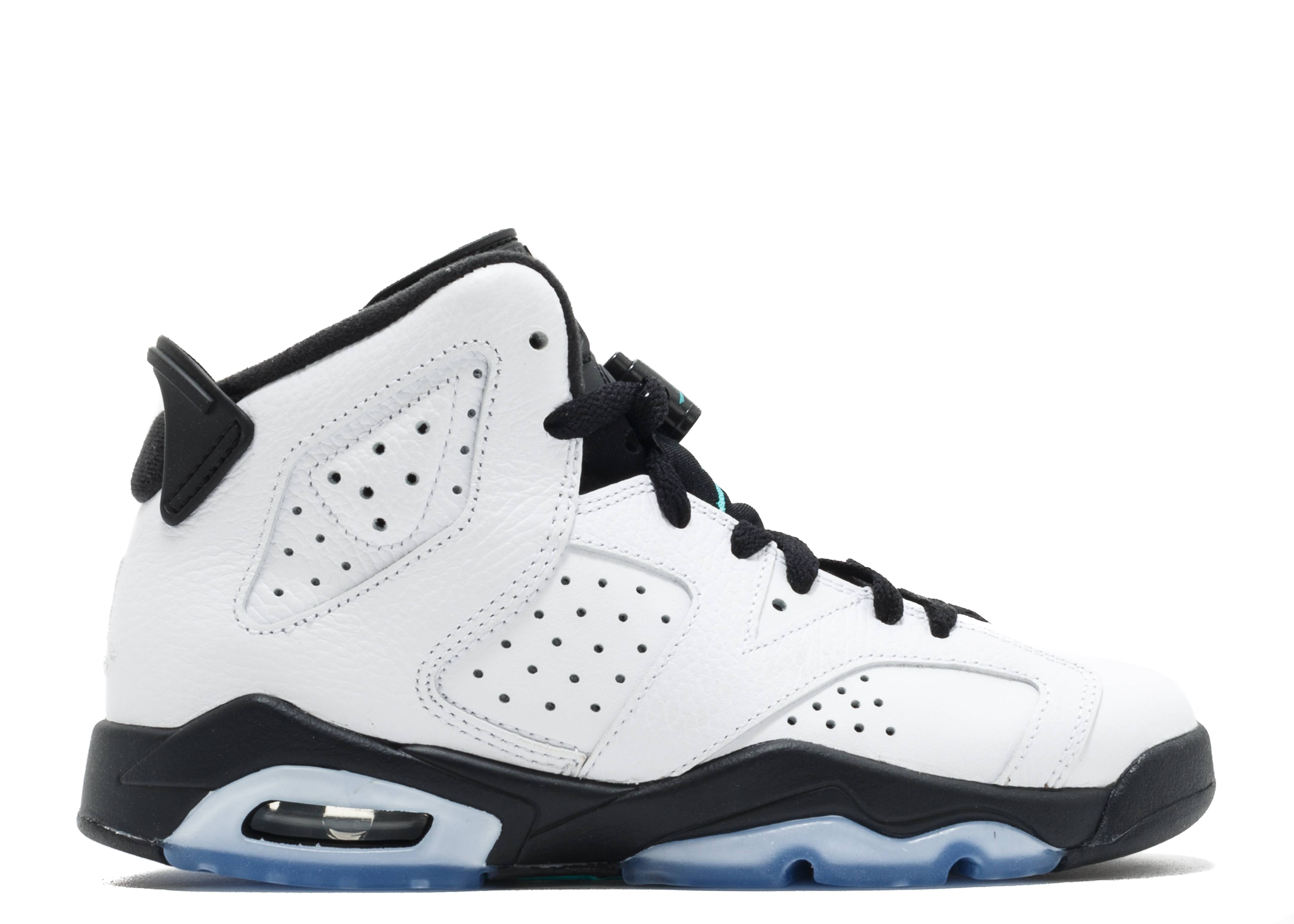 "Air Jordan Retro 6 bg (gs) ""Hyper Jade"""
