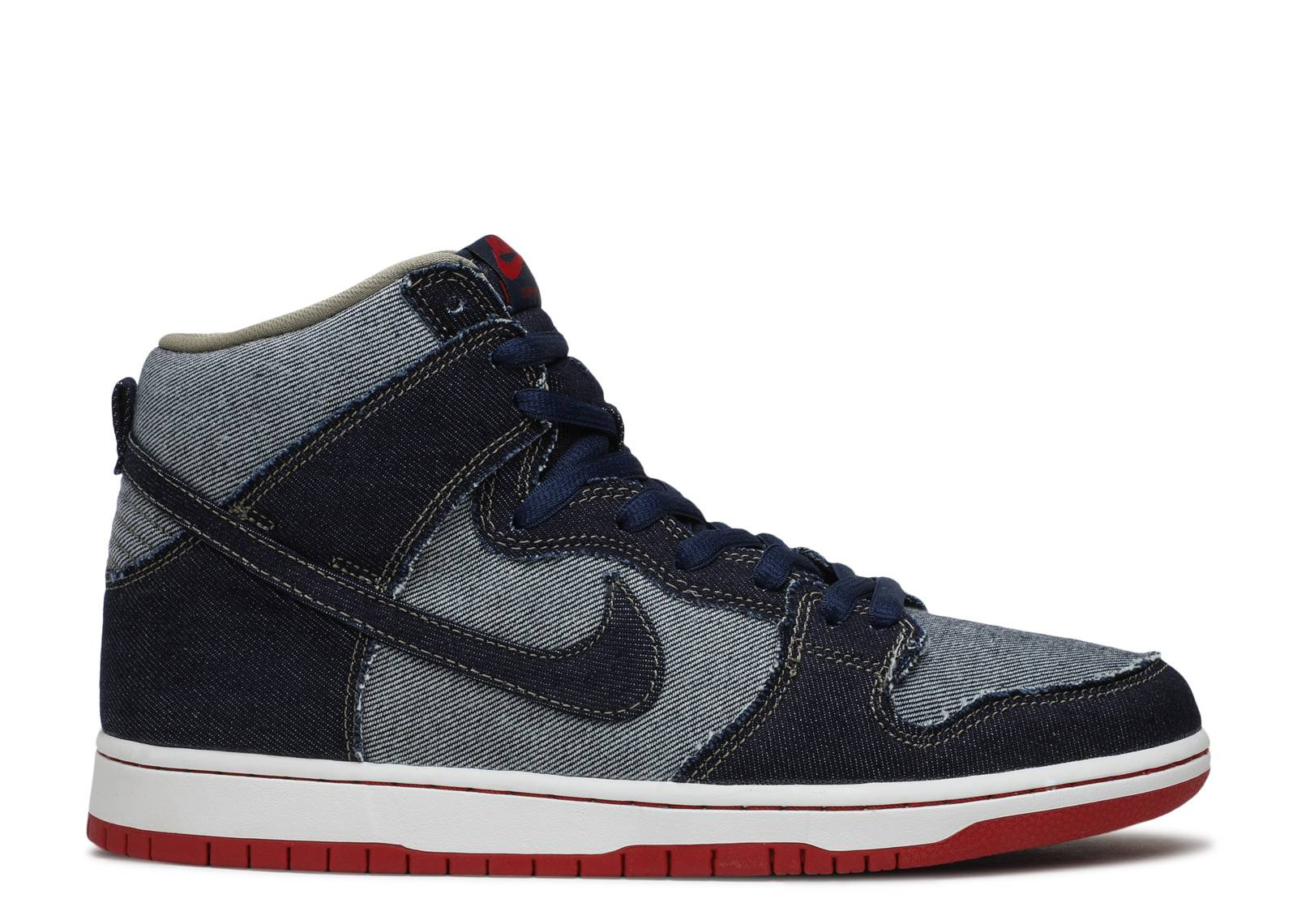 Nike SB Dunk High Premium Shoes blue