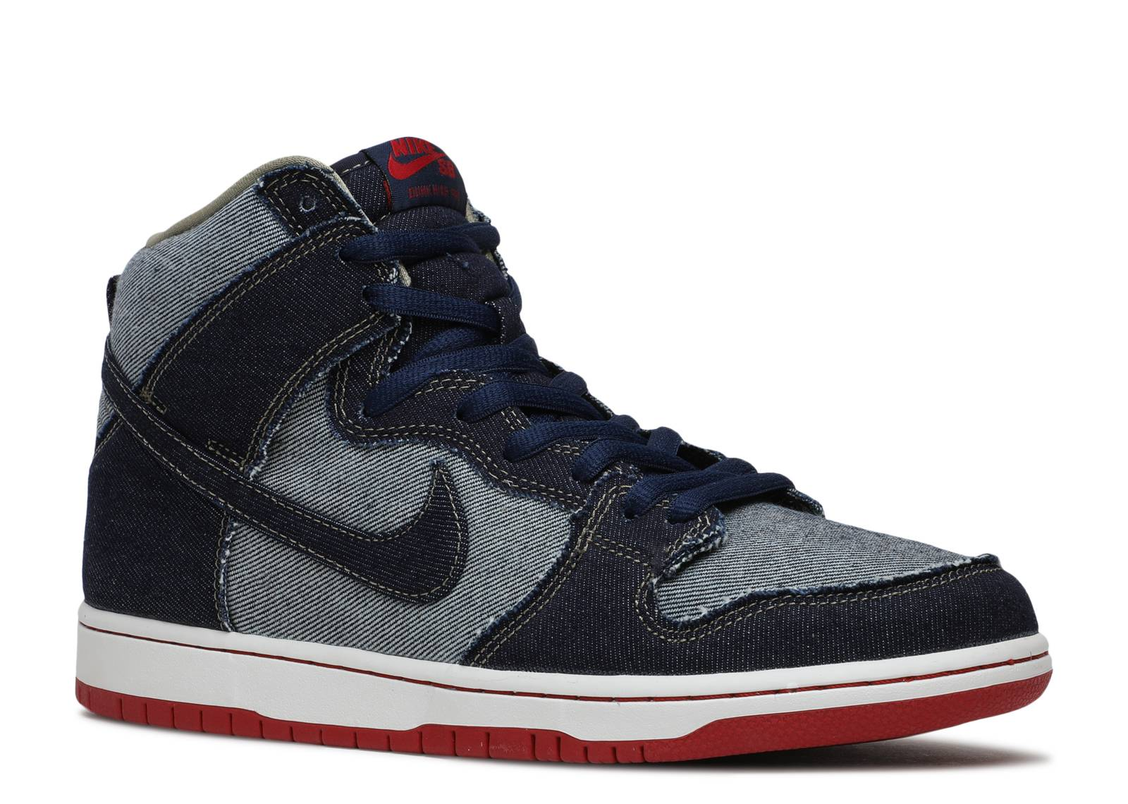 nike sb dunk high trd qs reese forbes denim nike. Black Bedroom Furniture Sets. Home Design Ideas