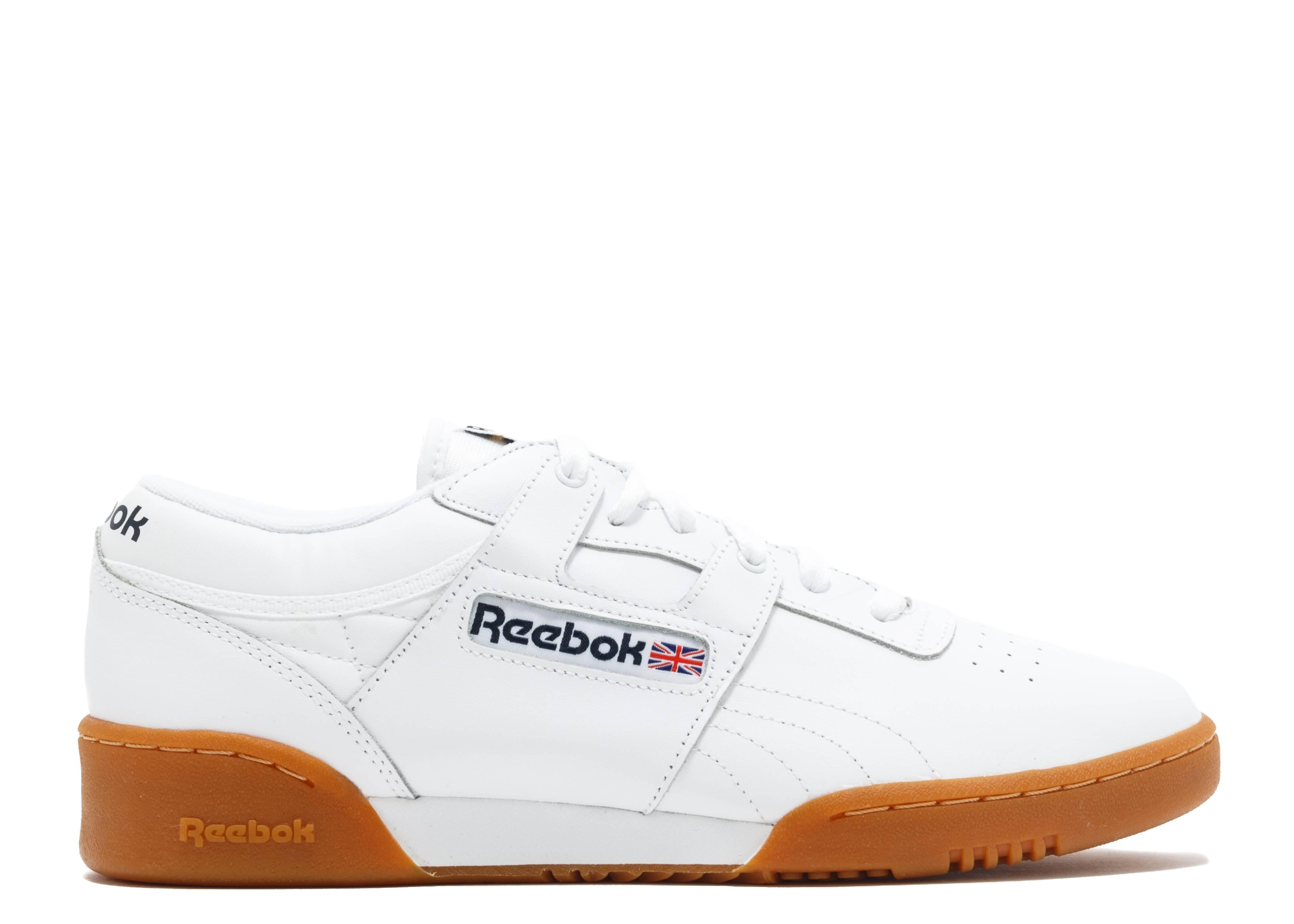 Workout Low - Reebok - 63978 - white gum  9ff7eb5d7