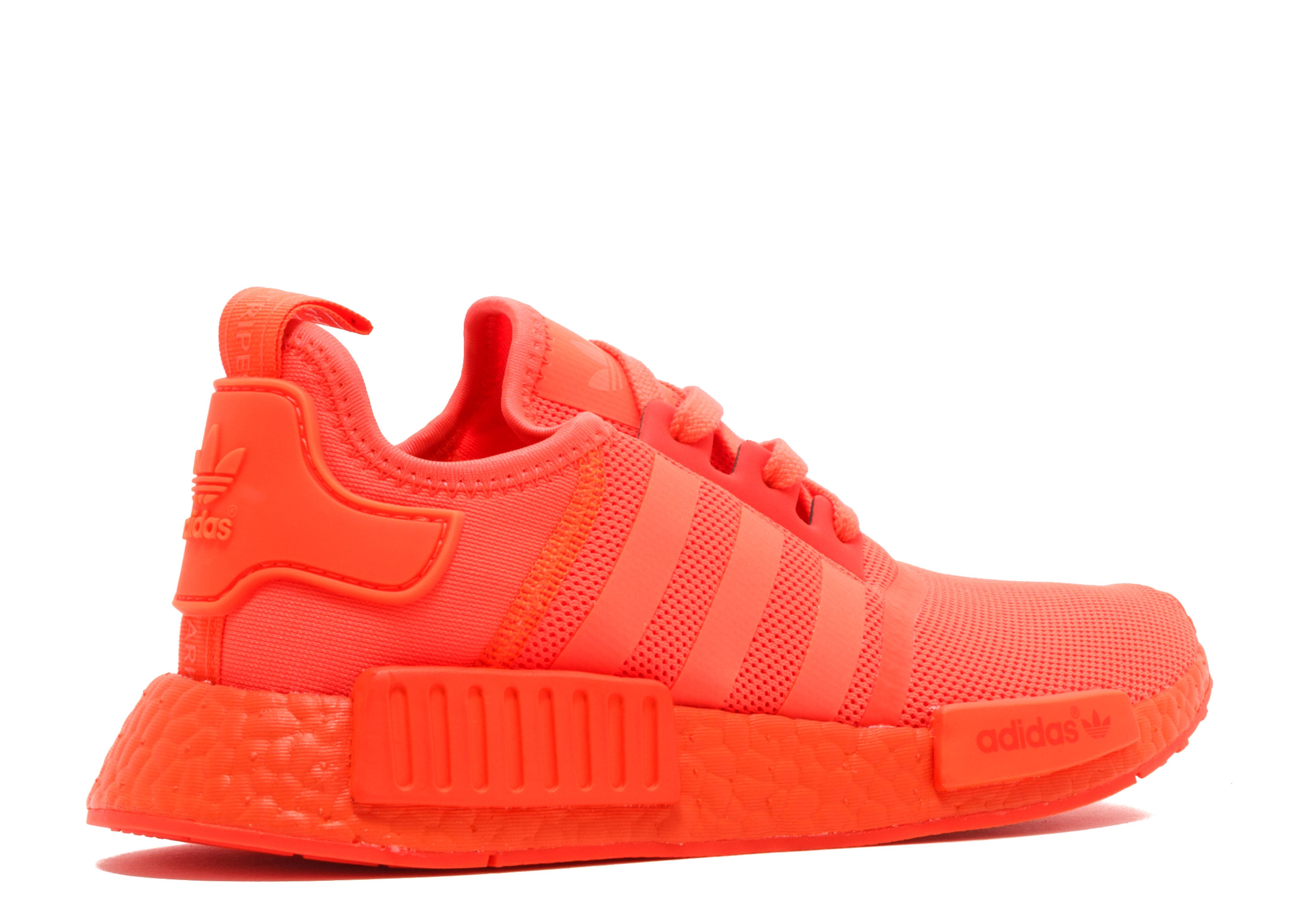 Solar Red Shoes
