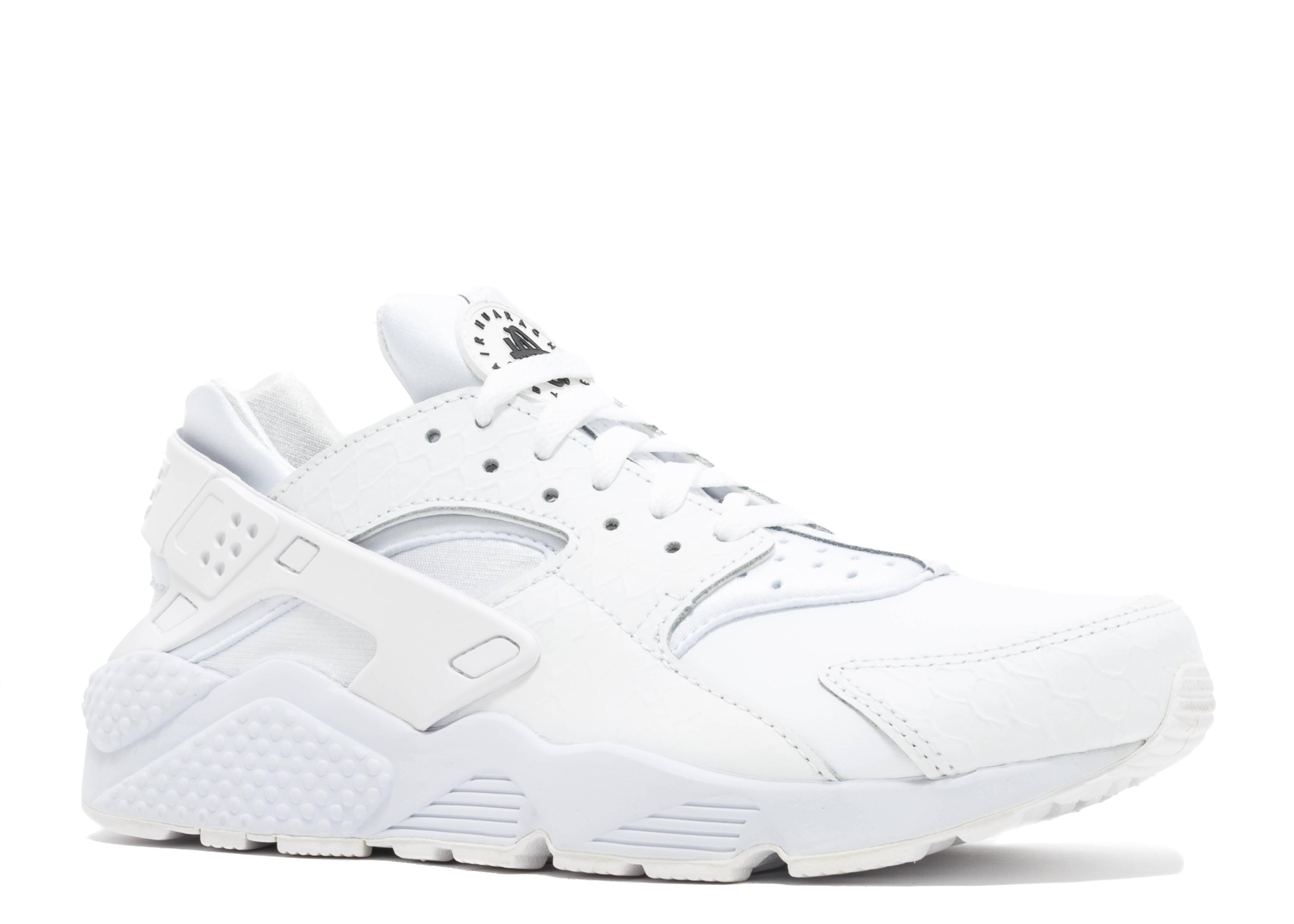 7ec81f4142ee Nike Air Huarache Run Prm White Black 704830-100