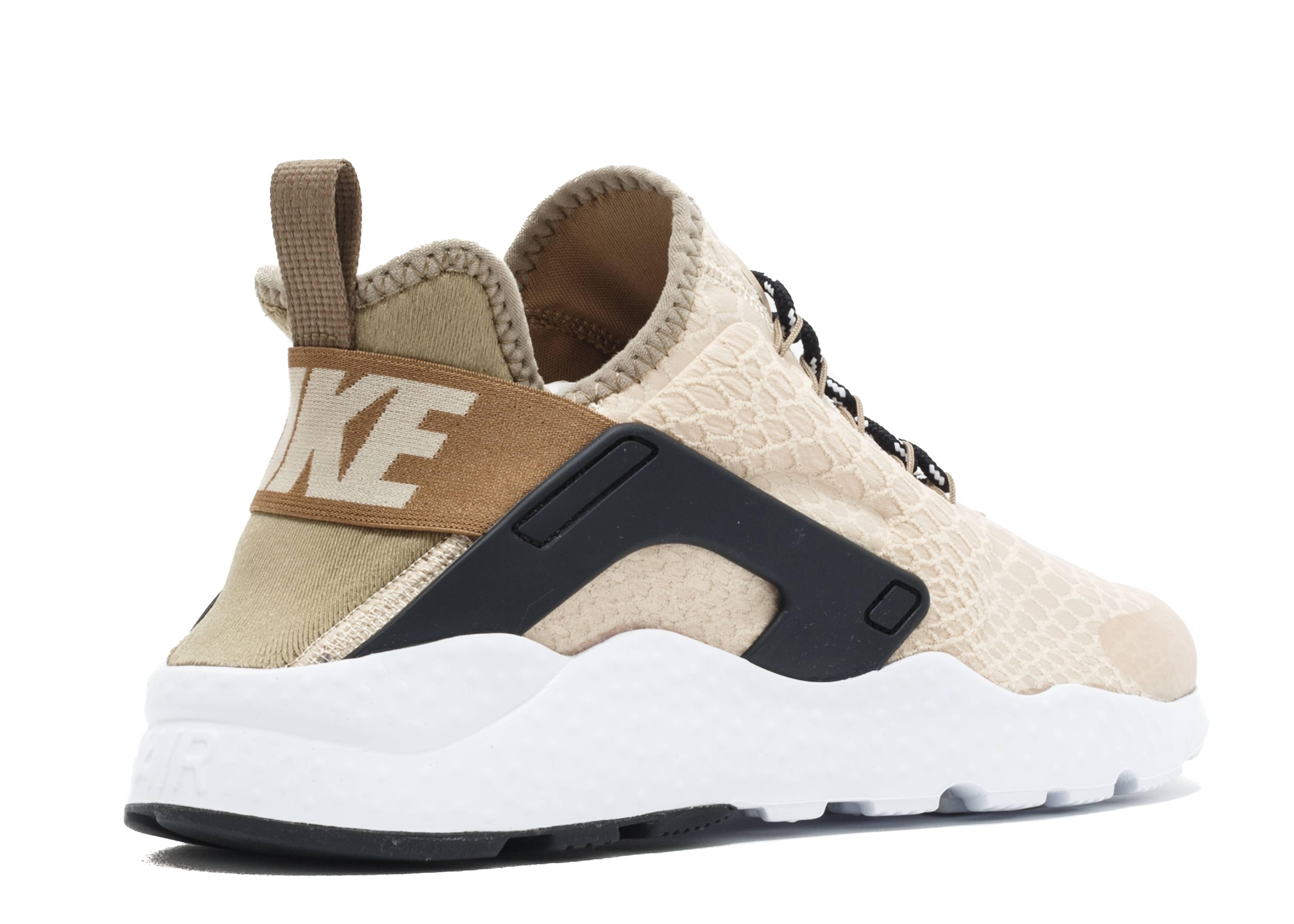 d47e3b02a4f7 W Air Huarache Run Ultra SE - Nike - 859516 100 - oatmeal oatmeal-khaki-black