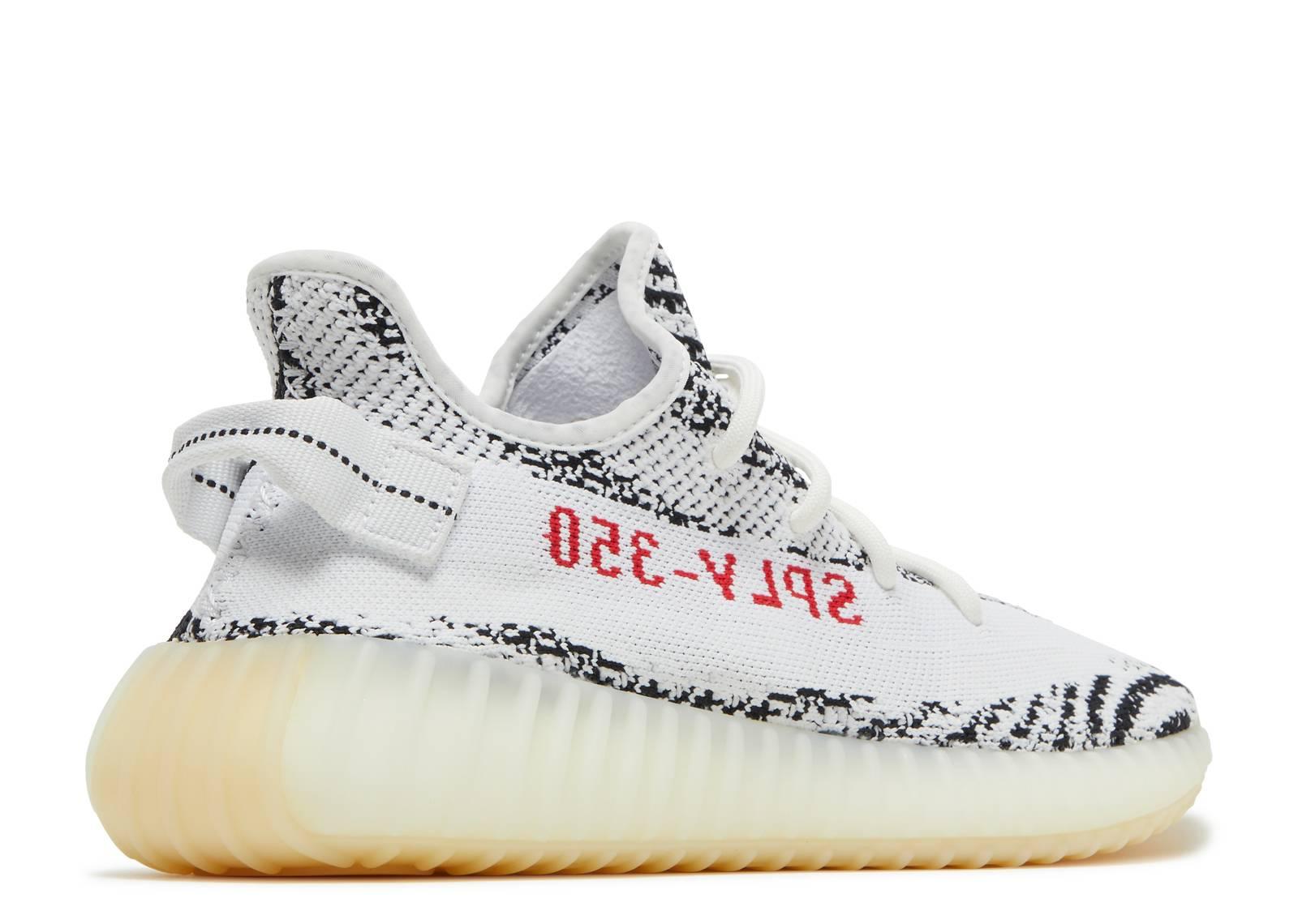 Brigantino Abuso isola  Yeezy Boost 350 V2 'Zebra' - Adidas - CP9654 - white/core black/red |  Flight Club