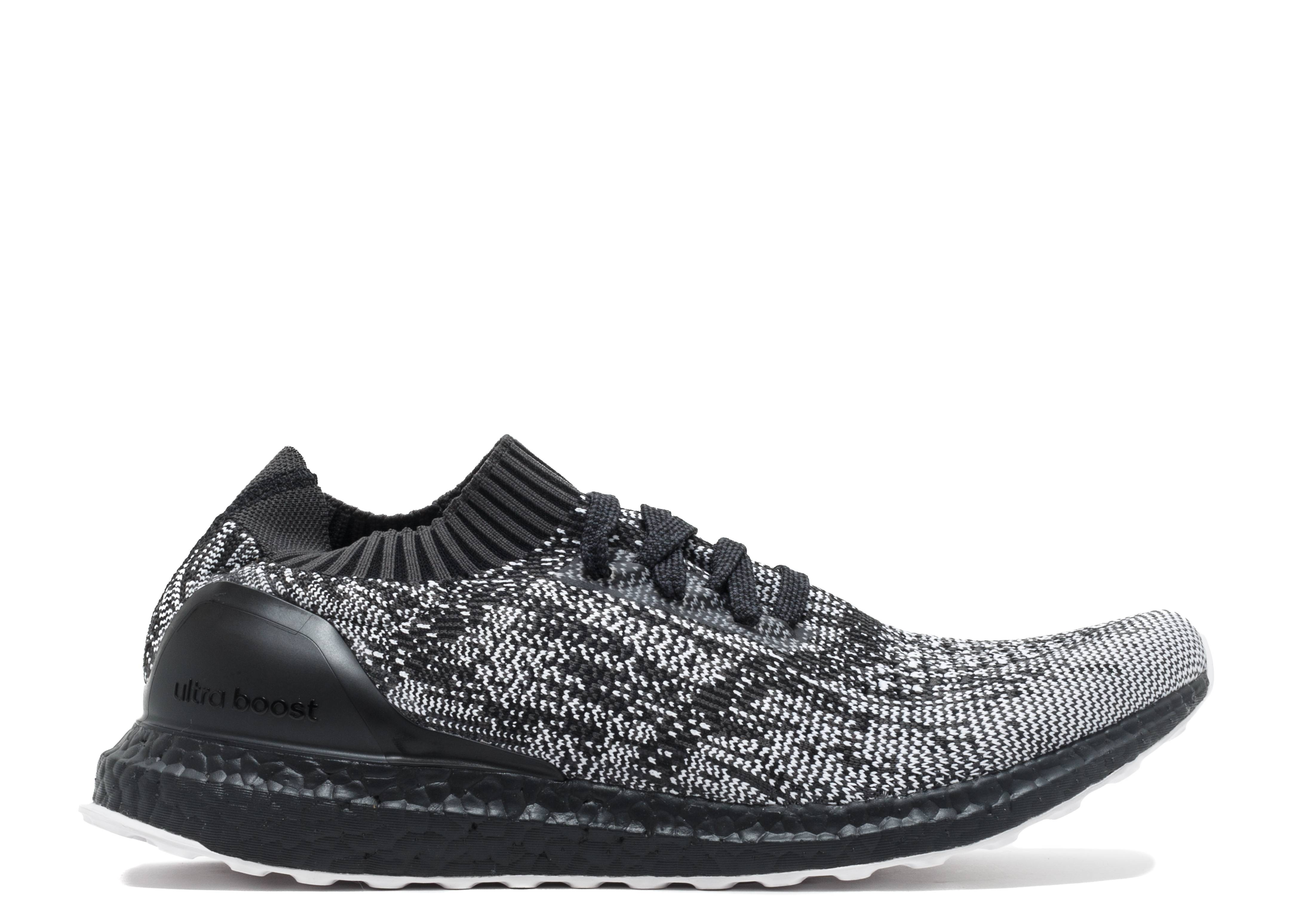 ultra boost uncaged black. Black Bedroom Furniture Sets. Home Design Ideas