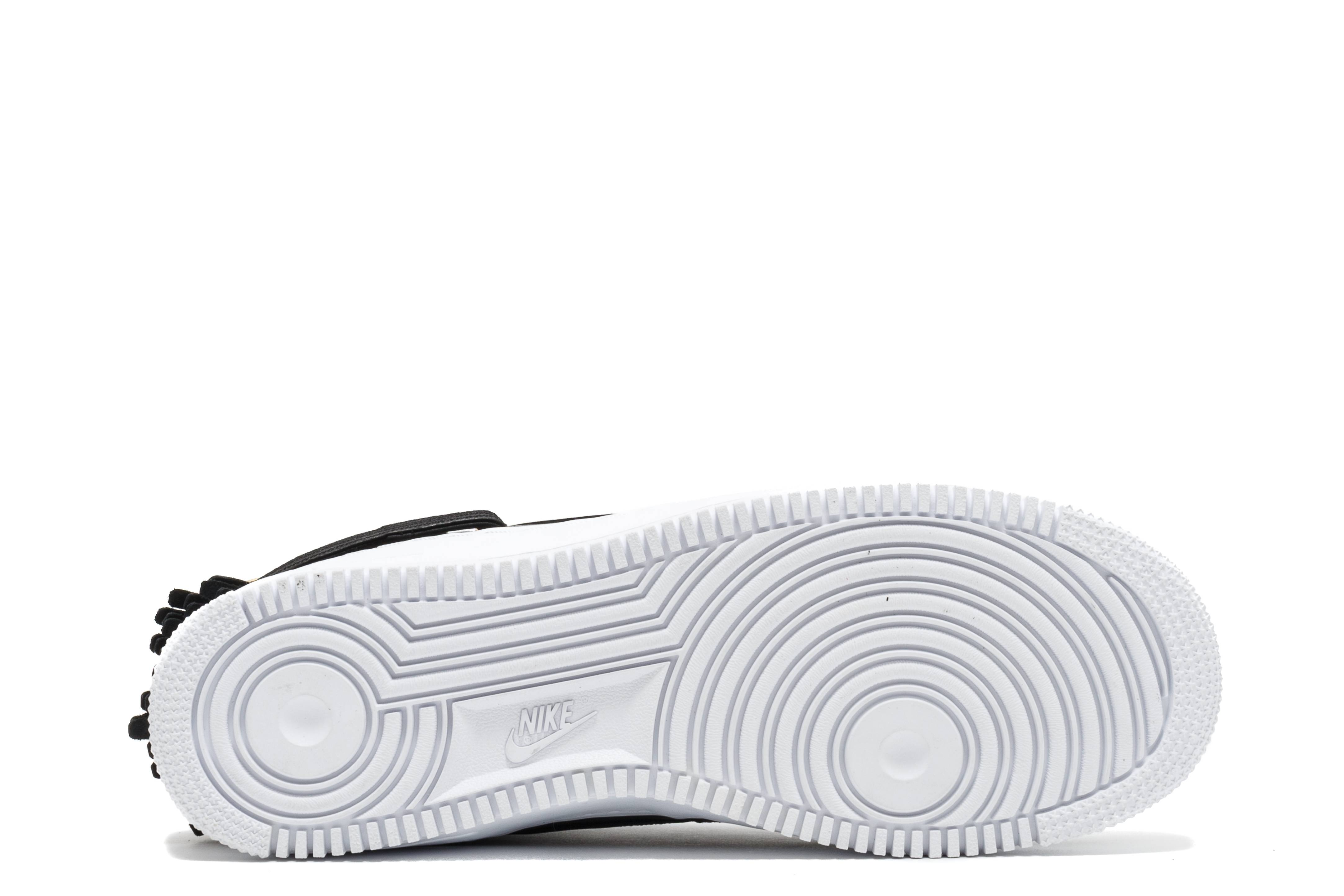 6a4a993e338f Nike Air Force 1 Cmft Lux High White Black 857667-735744 ...