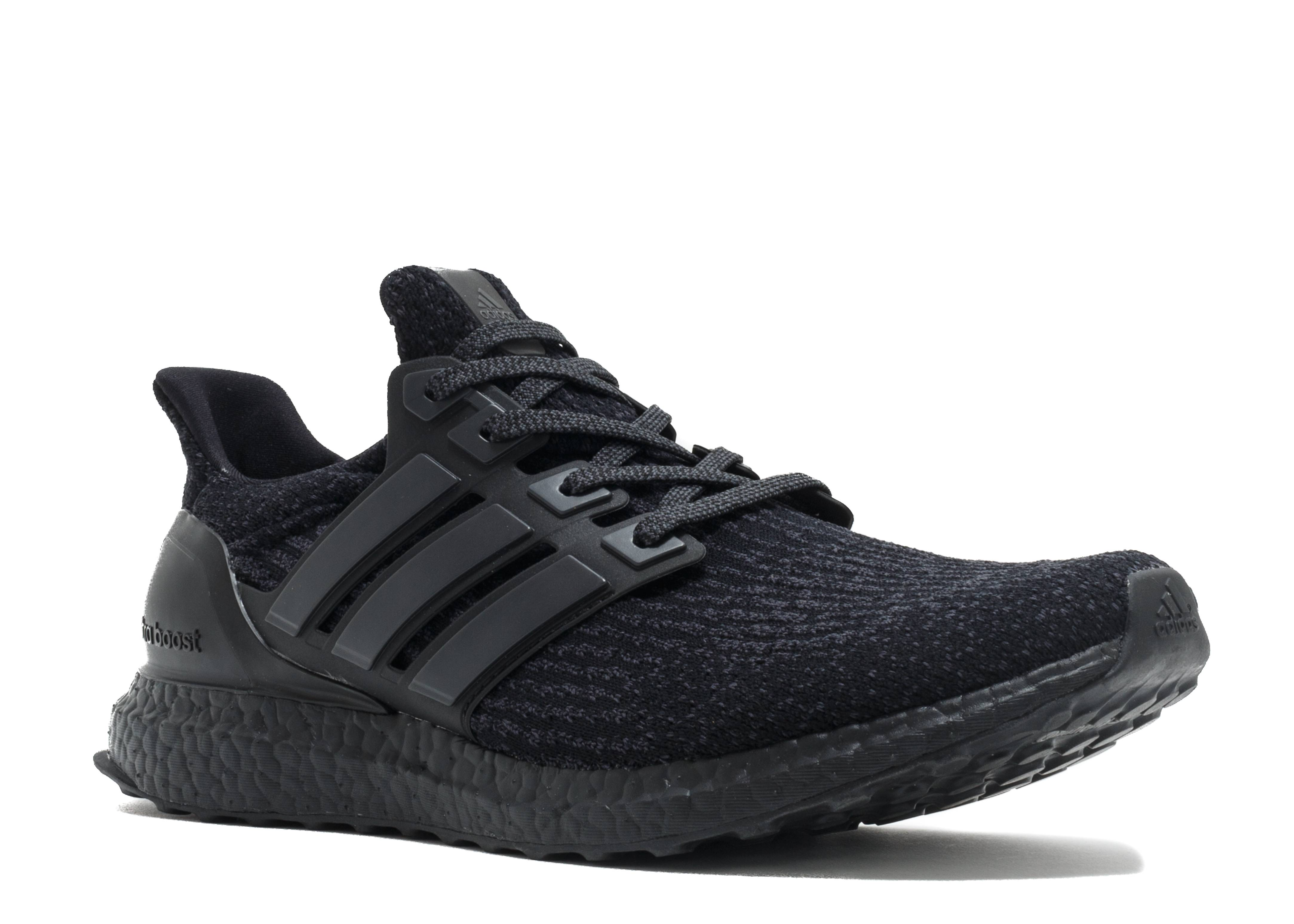 adidas ultra boost triple black 3 0 wallbank. Black Bedroom Furniture Sets. Home Design Ideas