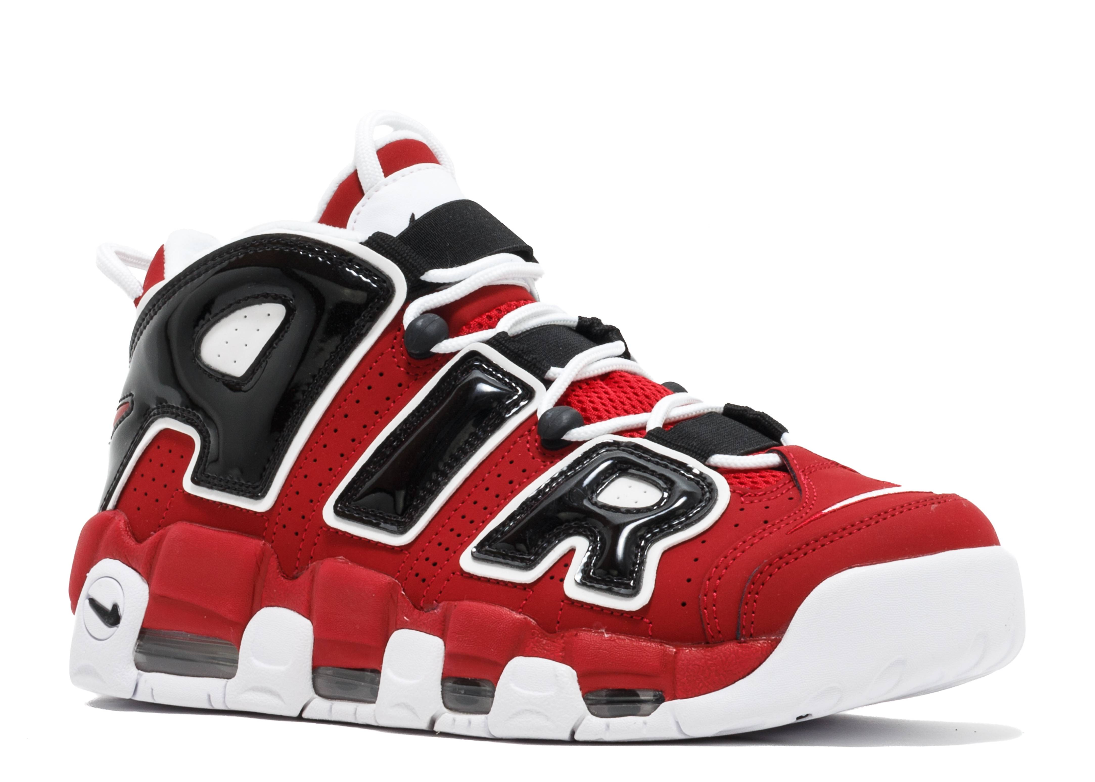 Nike Air Uptempo Mens Shoes Maroon