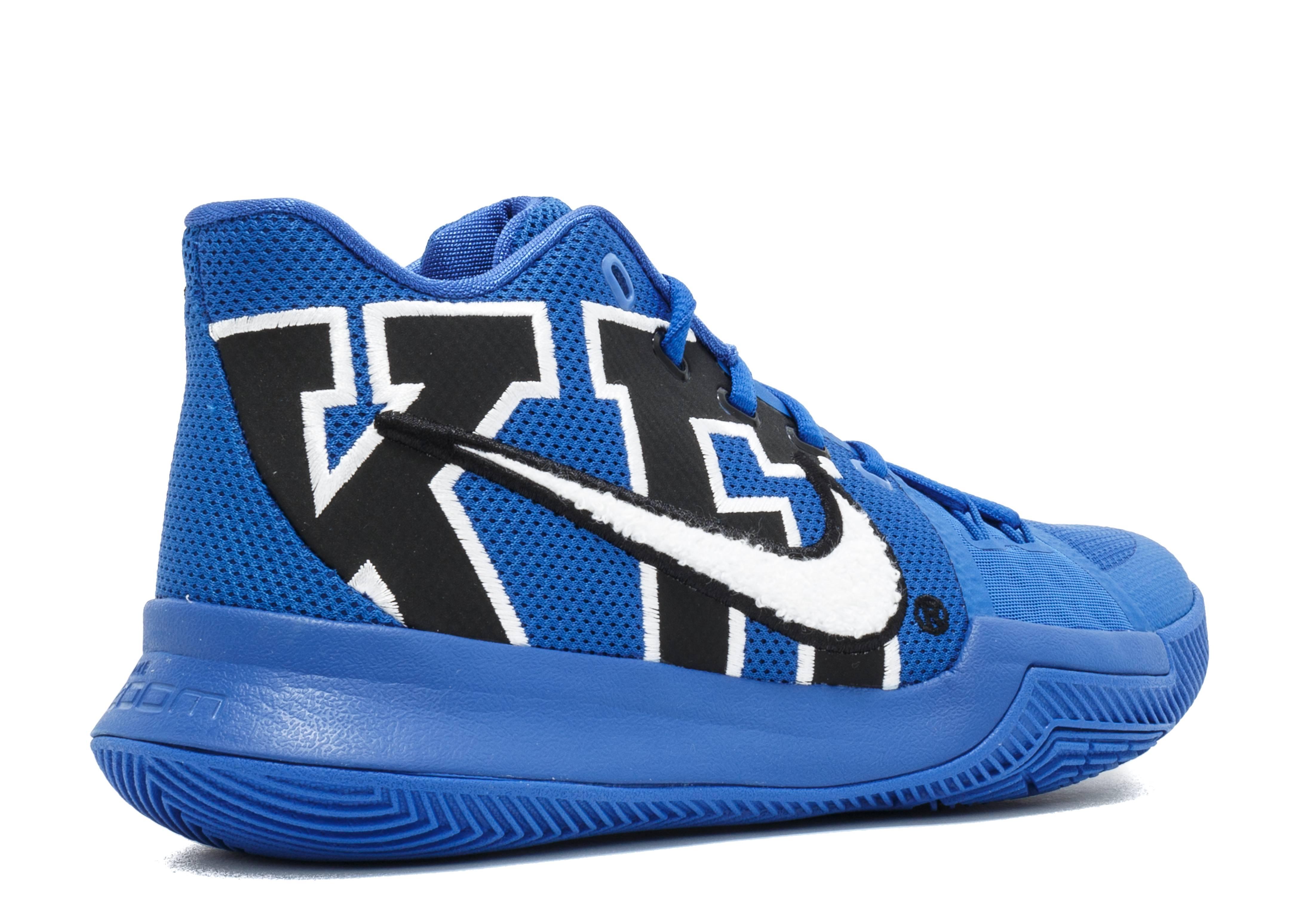 Kyrie 3 Duke - Nike - 922027 001 - black game royal  86e8b2223