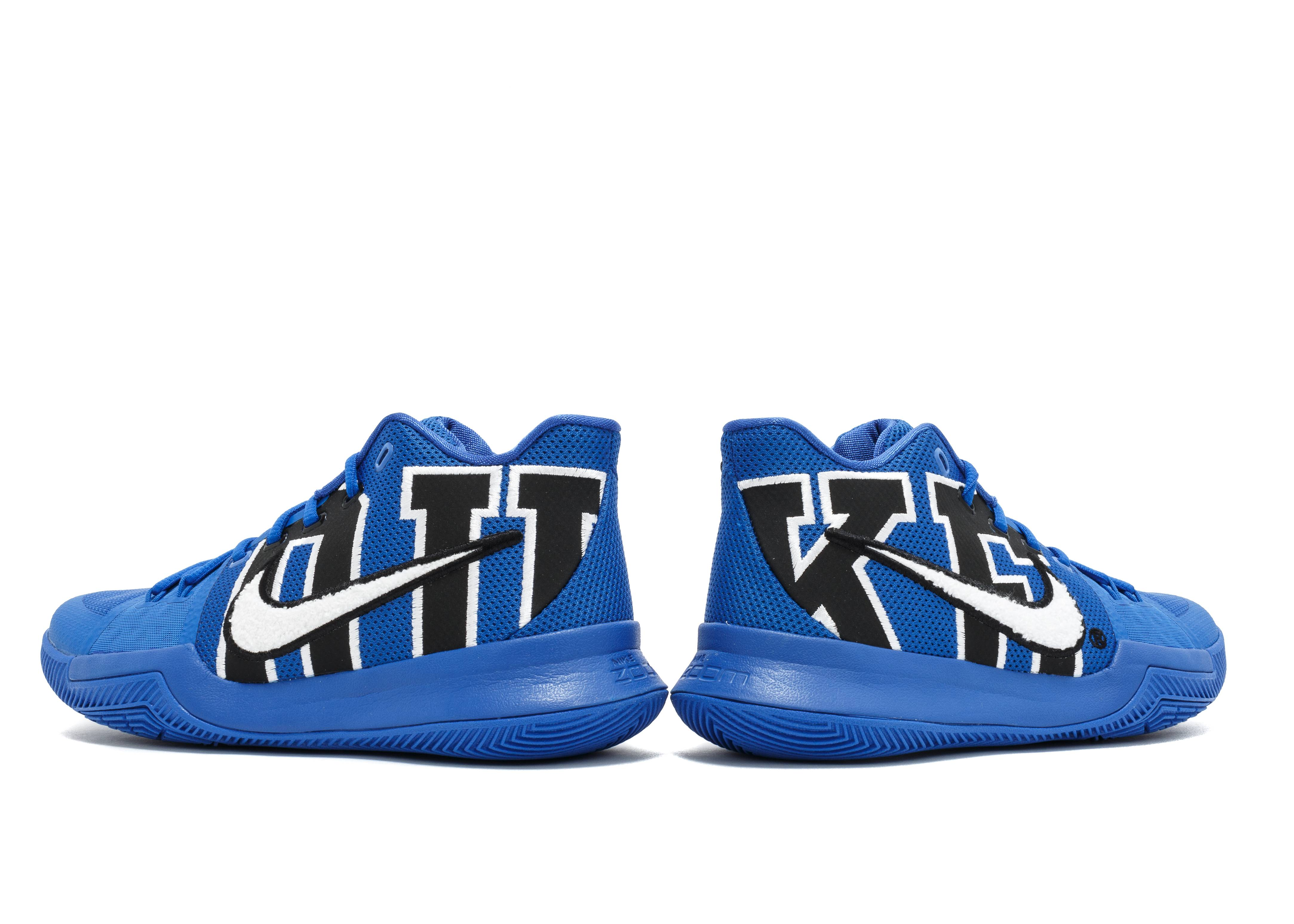 00b69b744406 Kyrie 3 Duke - Nike - 922027 001 - black game royal